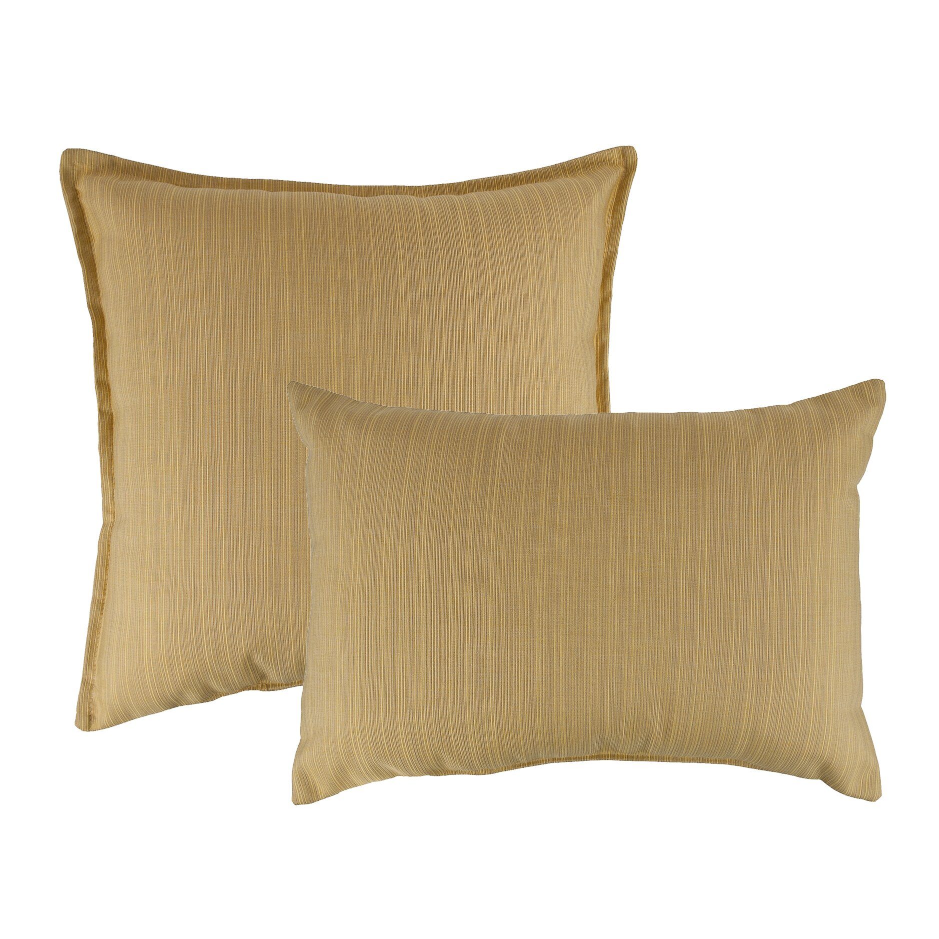 Outdoor Decorative Pillow Sets : Austin Horn Classics 2 Piece Dupione Combo Outdoor Sunbrella Throw Pillow Set Wayfair