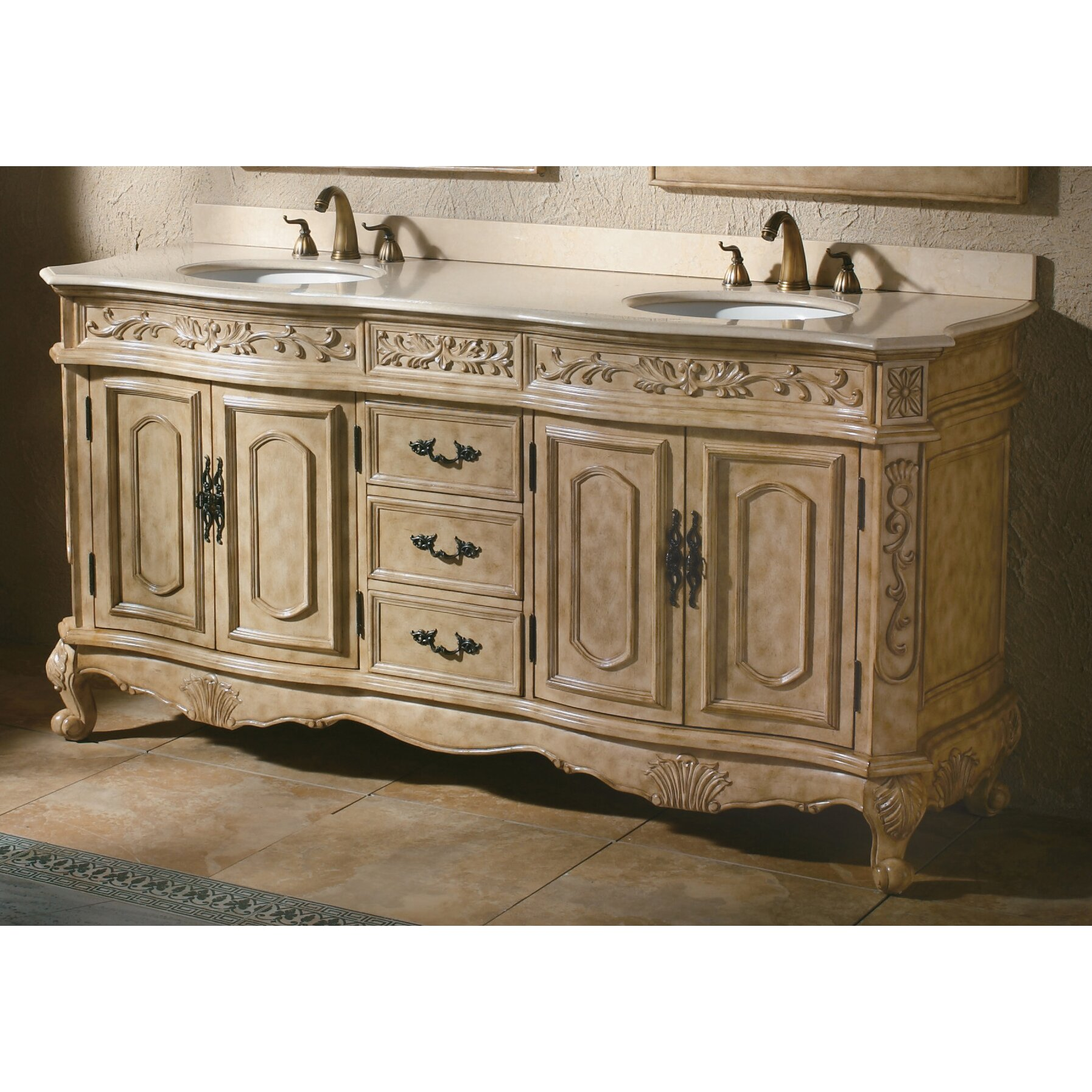 James Martin Furniture Classico 72 Quot Double Antique