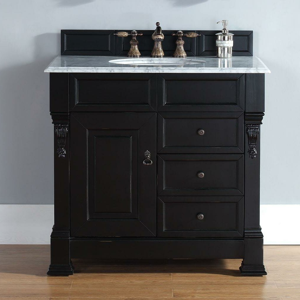 james martin furniture brookfield 36 single antique black