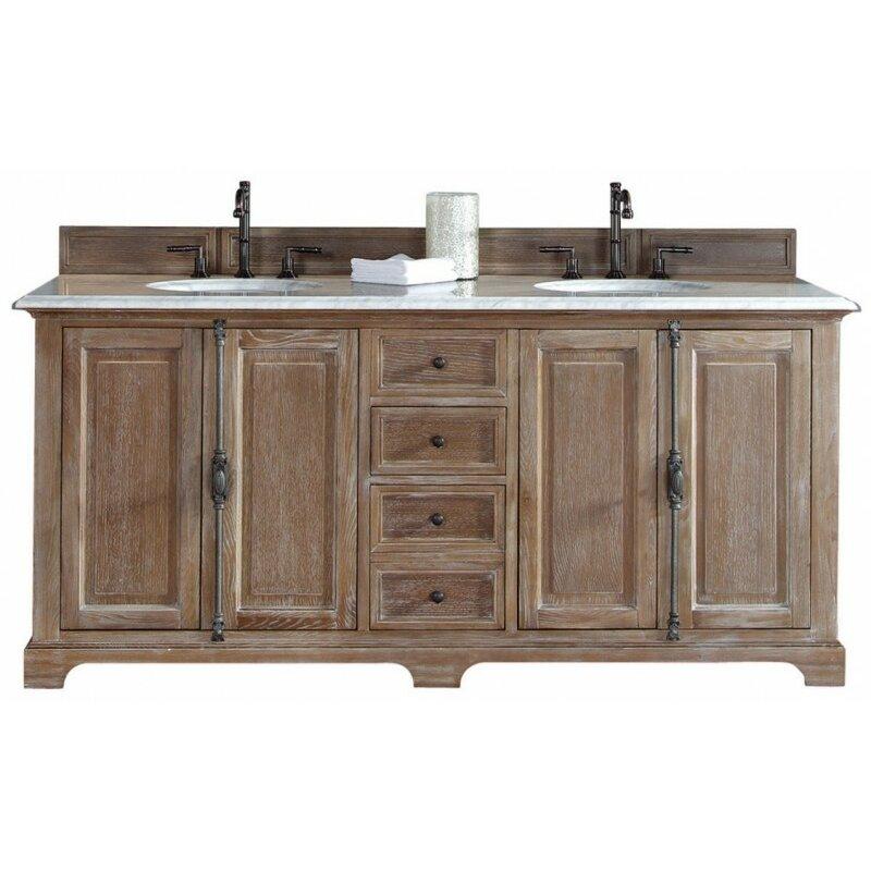 "James Martin Furniture Providence 72"" Double Vanity Base"