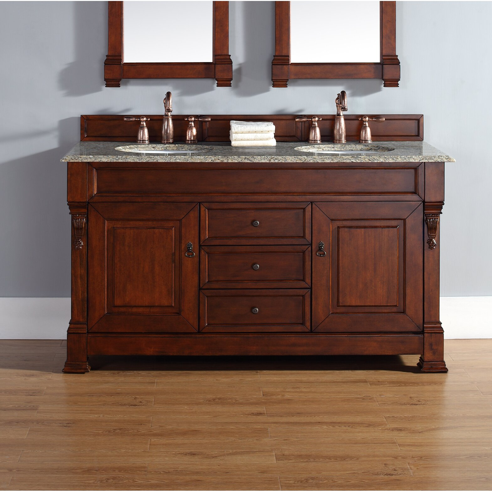 james martin furniture brookfield 60 quot double bathroom