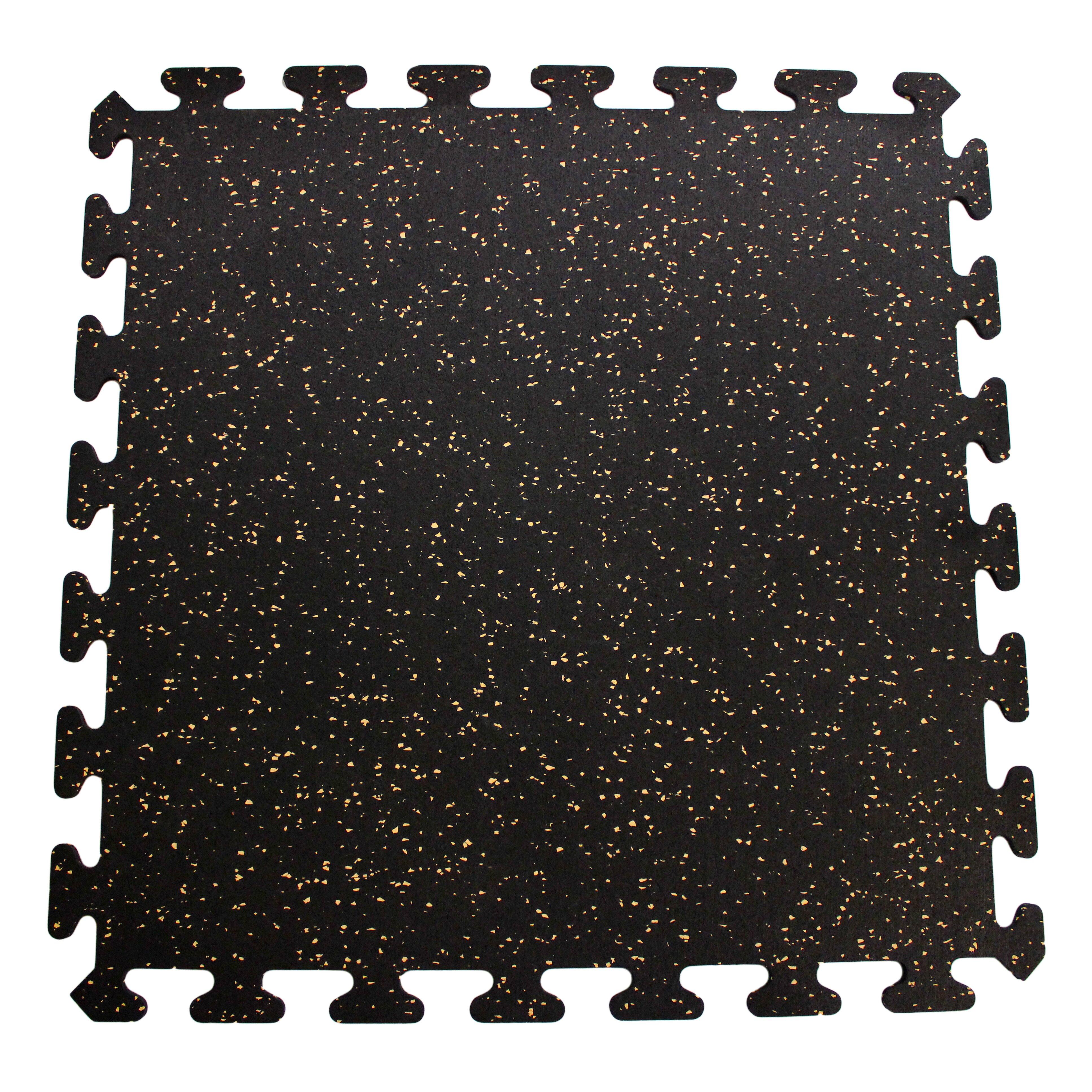 Mats Inc. Interlocking Floor Recycled Rubber Tiles