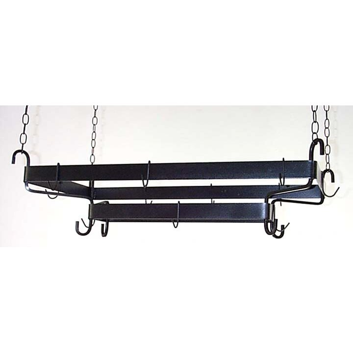 Grace French Display Hanging Pot Rack Amp Reviews Wayfair