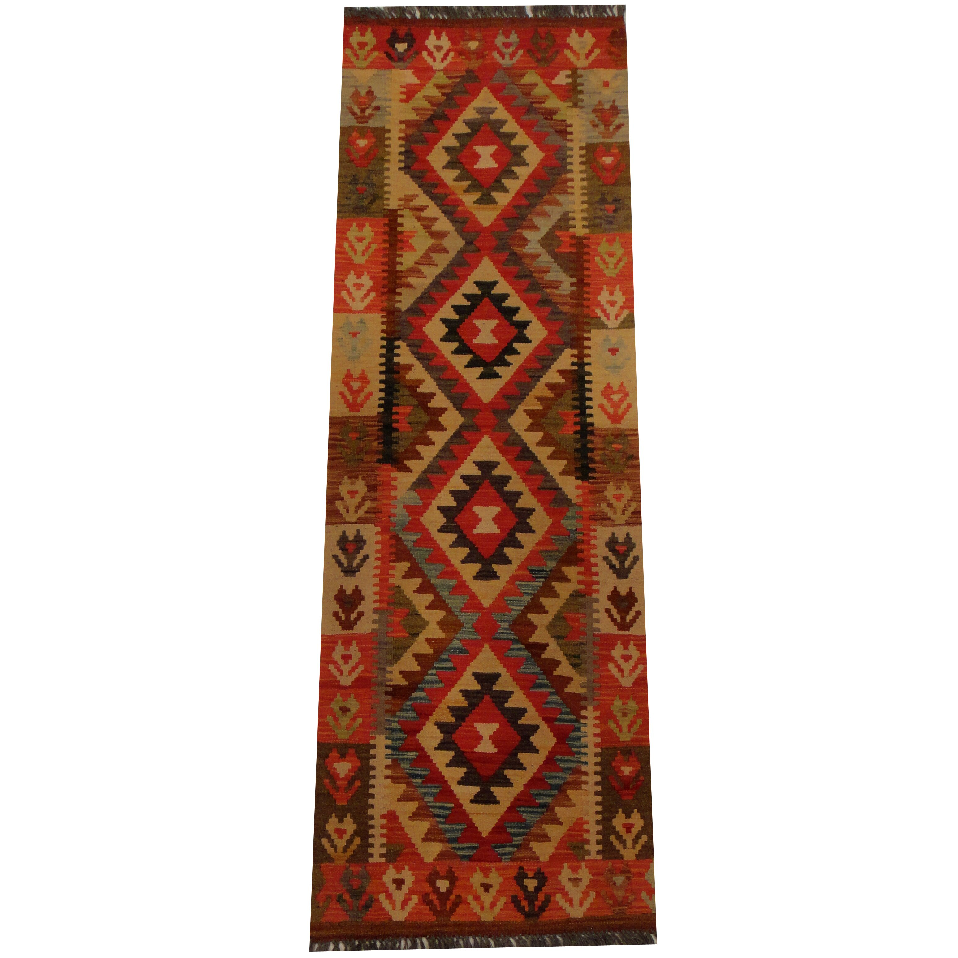 Camel Wool Rug Persian Rug Handwoven Kilim Area: Herat Oriental Kilim Hand-Woven Rust Area Rug
