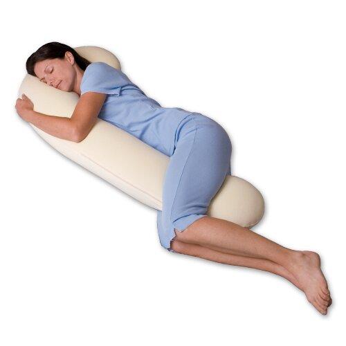Snoozer Body Pillow DreamWeaver 500 Thread Count Ergonomic ...