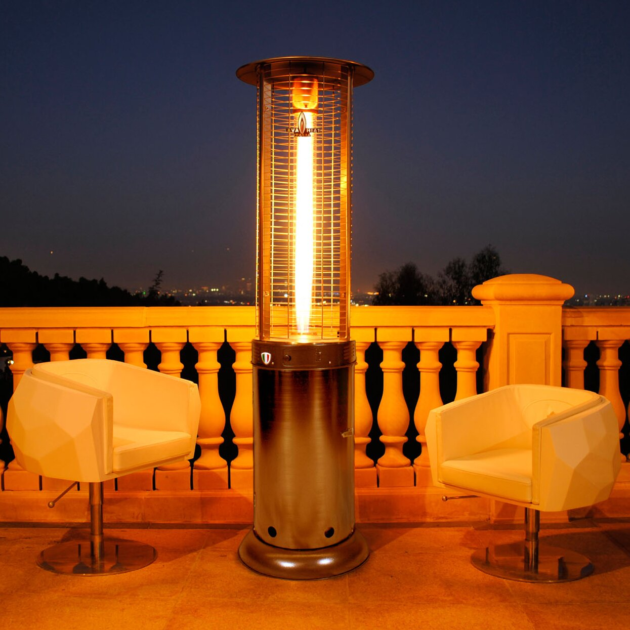 Small Patio Heaters Gas Modern