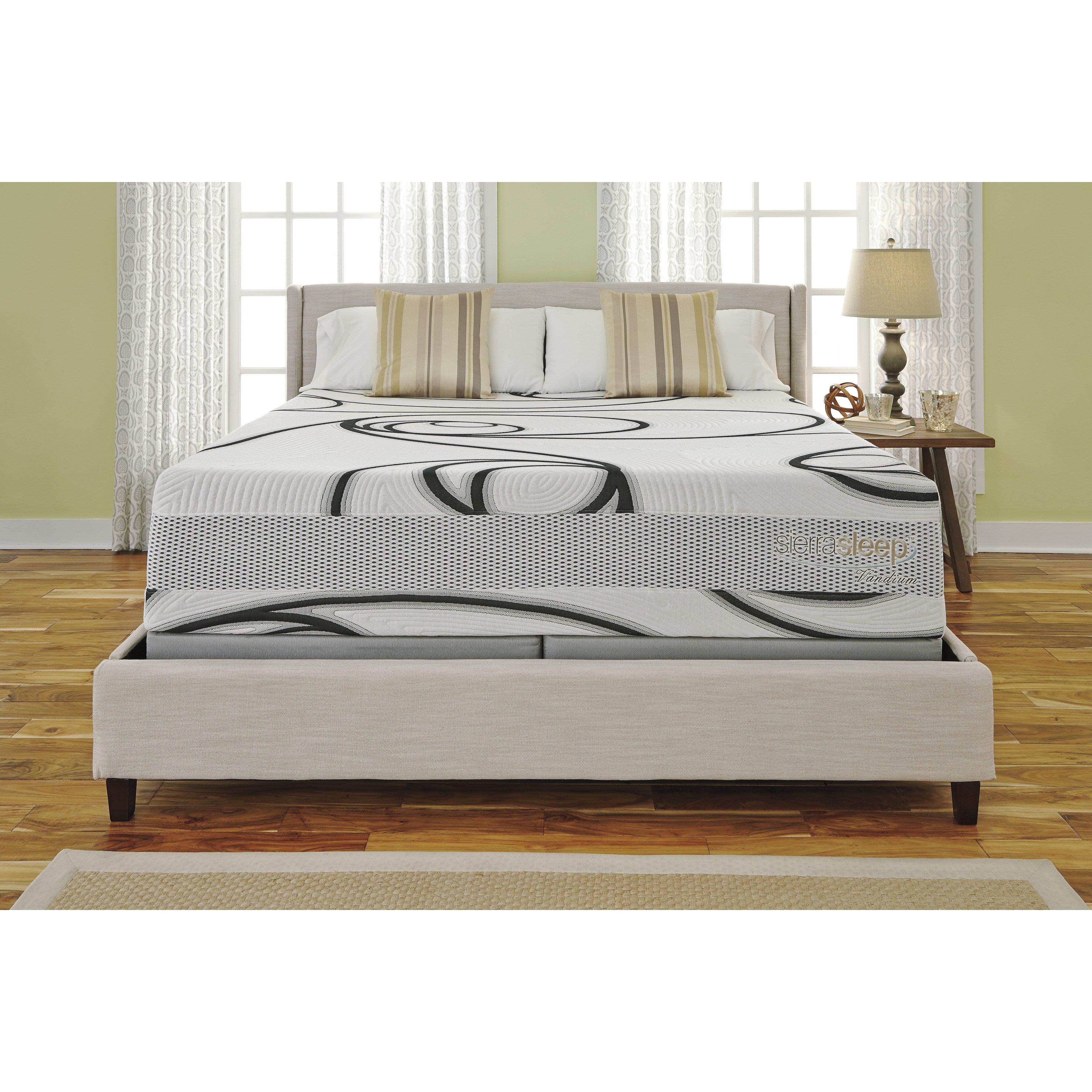 sierra sleep split king boxspring reviews wayfair. Black Bedroom Furniture Sets. Home Design Ideas