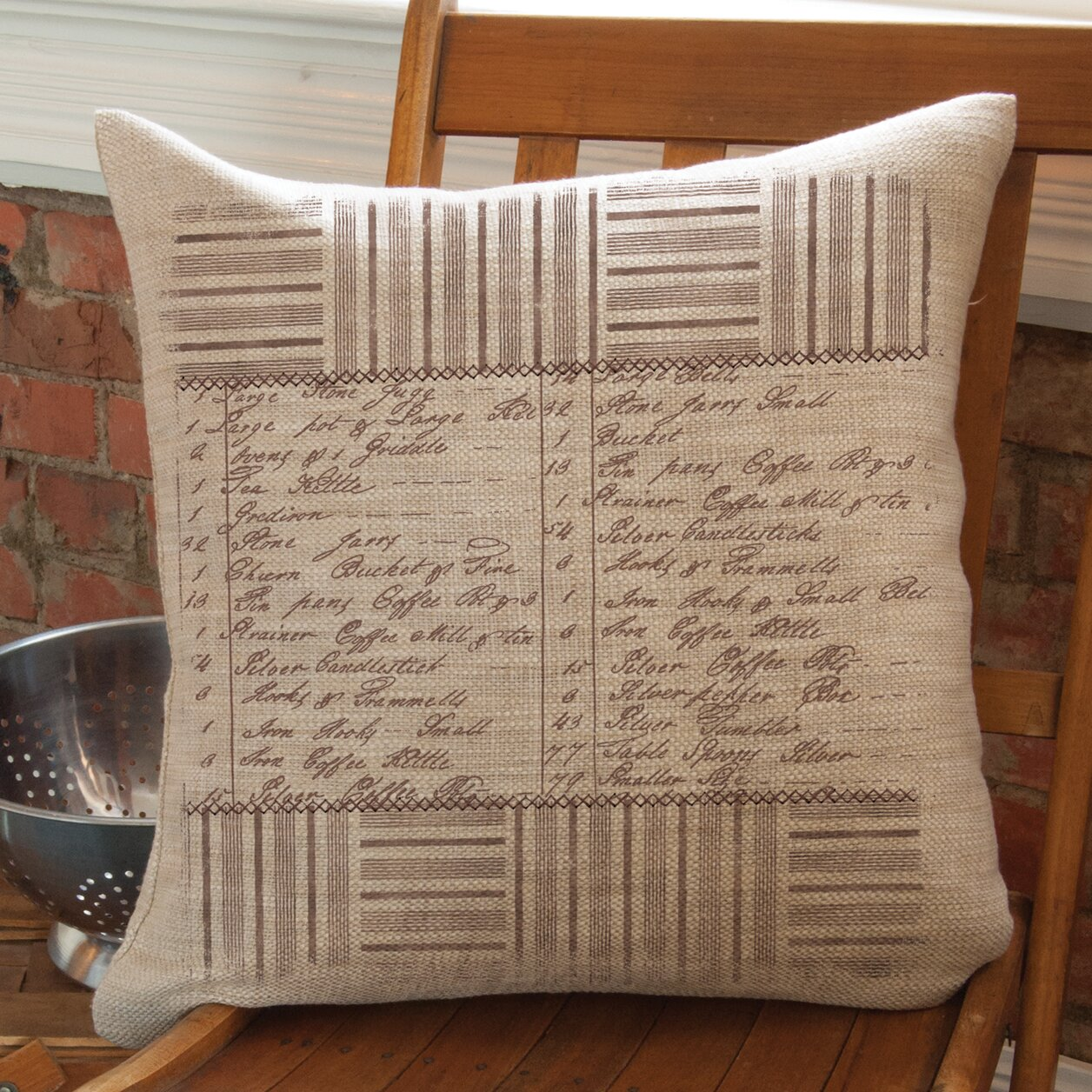 Ivory Lace Throw Pillow : Heritage Lace Downton Abbey Throw Pillow Wayfair