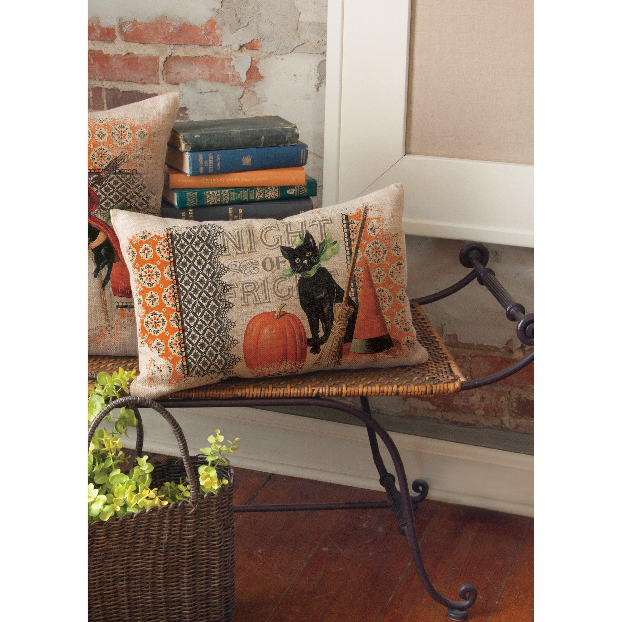 Heritage Lace Victorian Halloween Lumbar Pillow & Reviews Wayfair