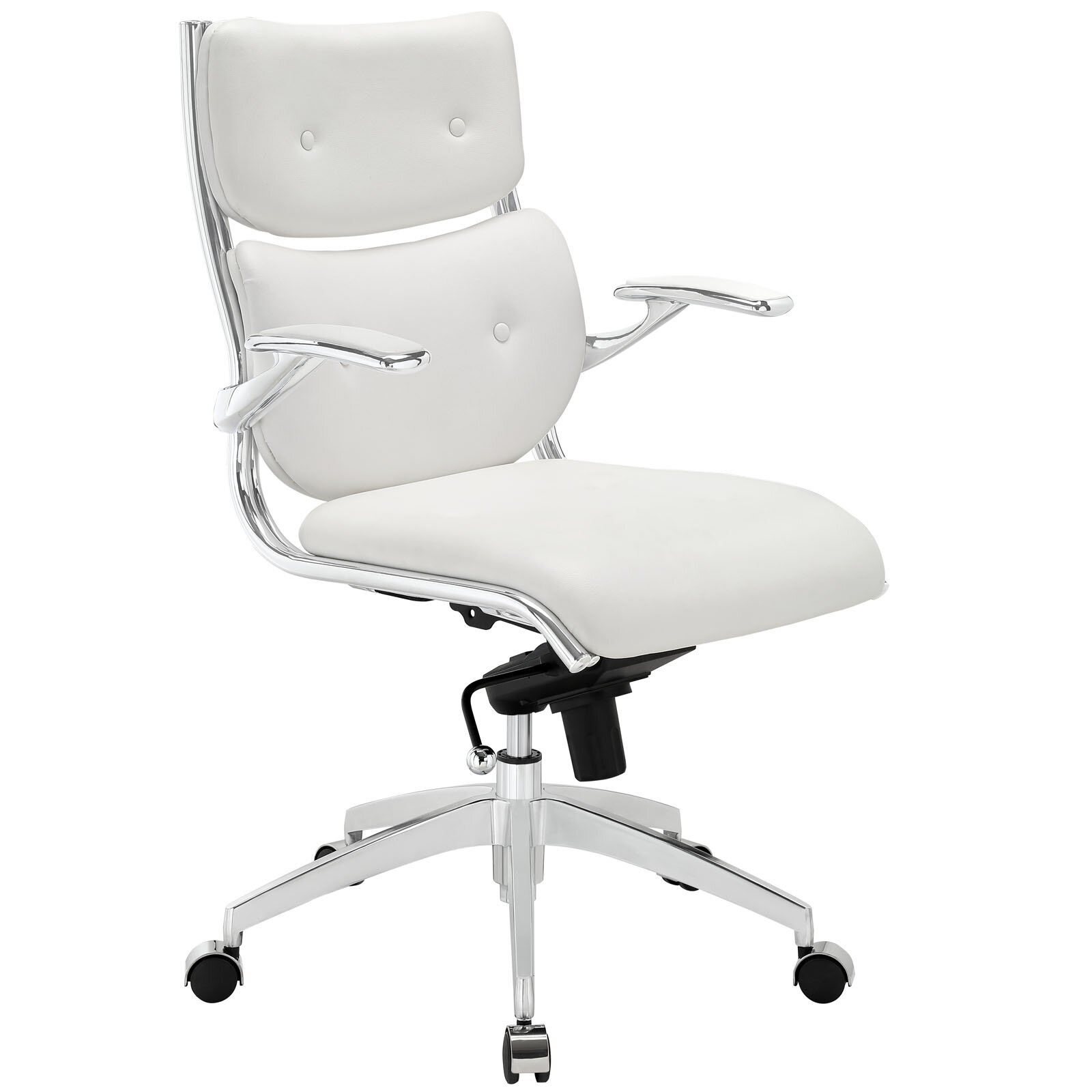 Modway Push Mid Back Office Chair Amp Reviews Wayfair