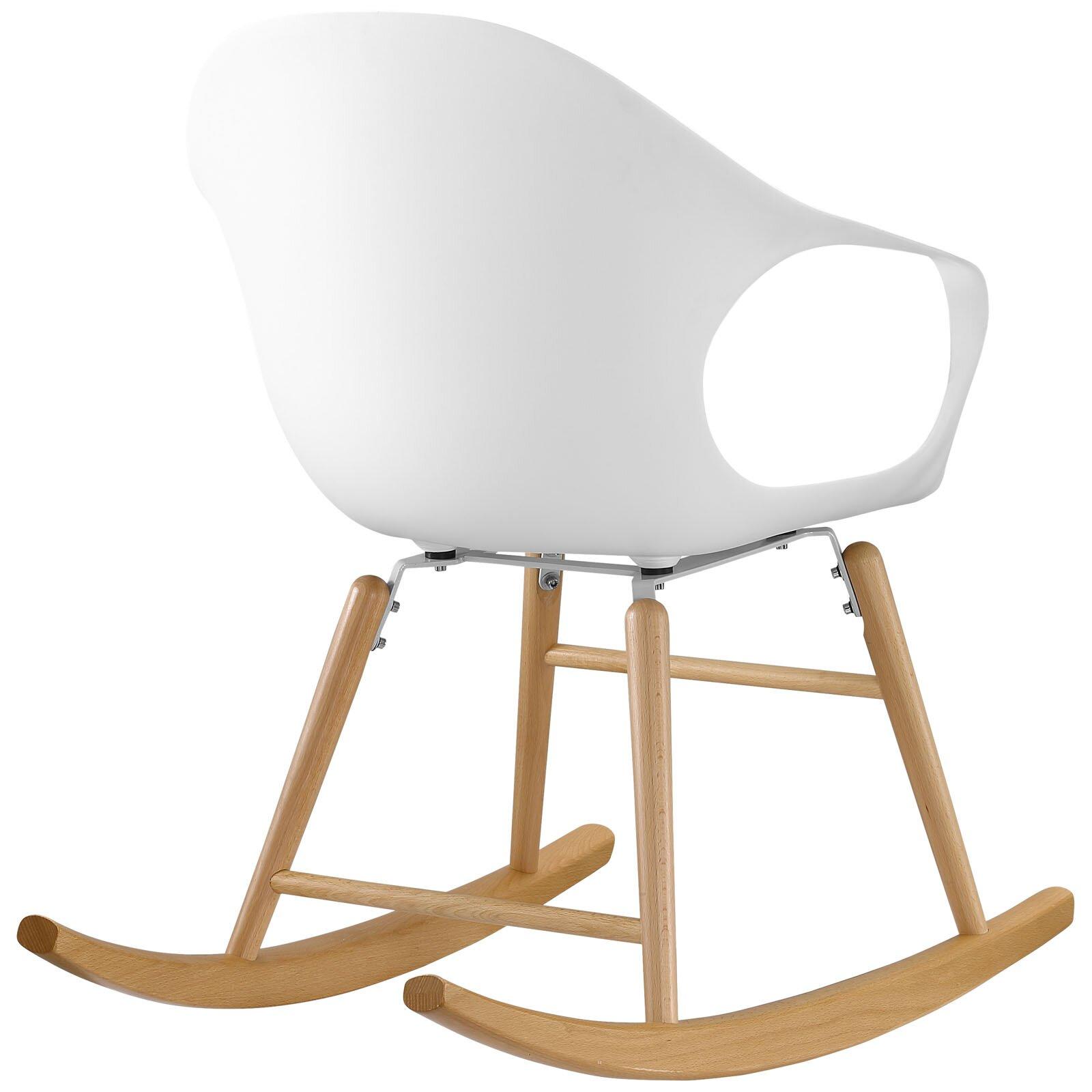 Modway Swerve Rocking Chair & Reviews  Wayfair