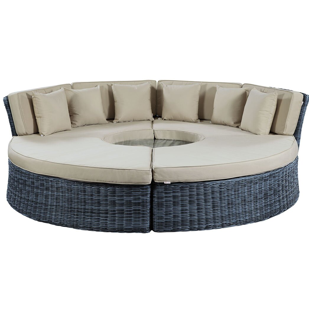 Modway Summon Daybed with Cushions