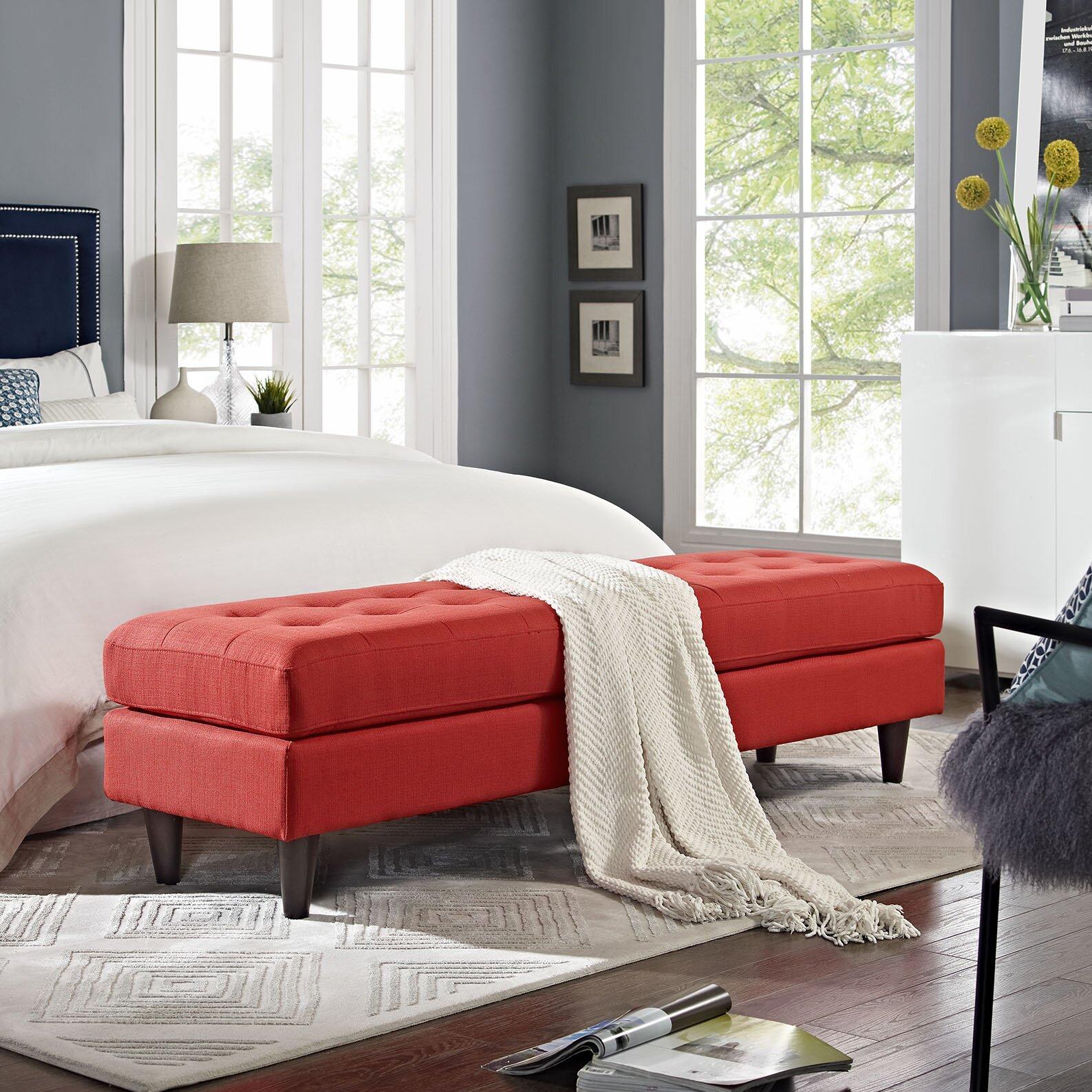 Modway Empress Bedroom Bench & Reviews
