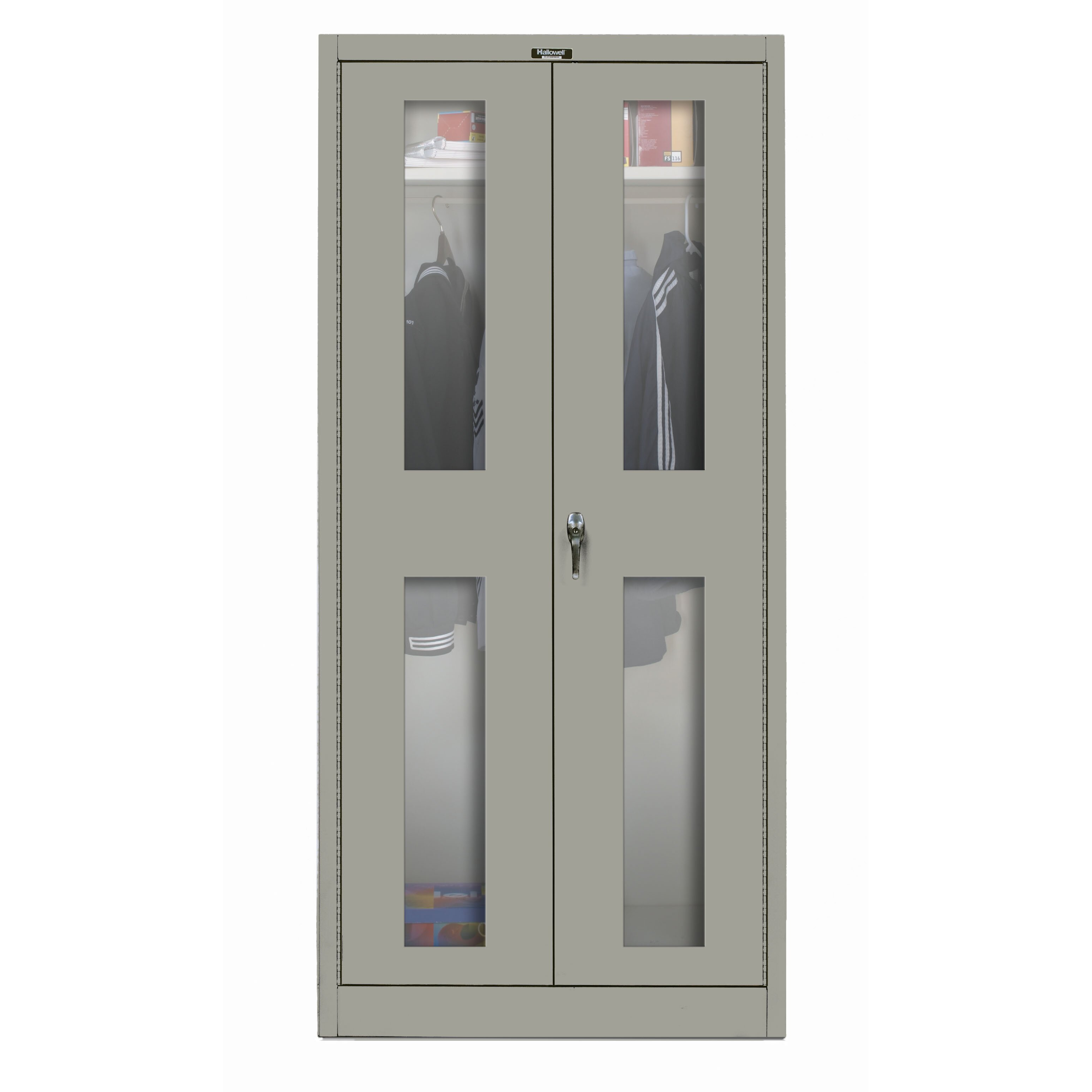 Hallowell 400 Series 72 Quot H X 48 Quot W X 24 Quot D Storage Cabinet