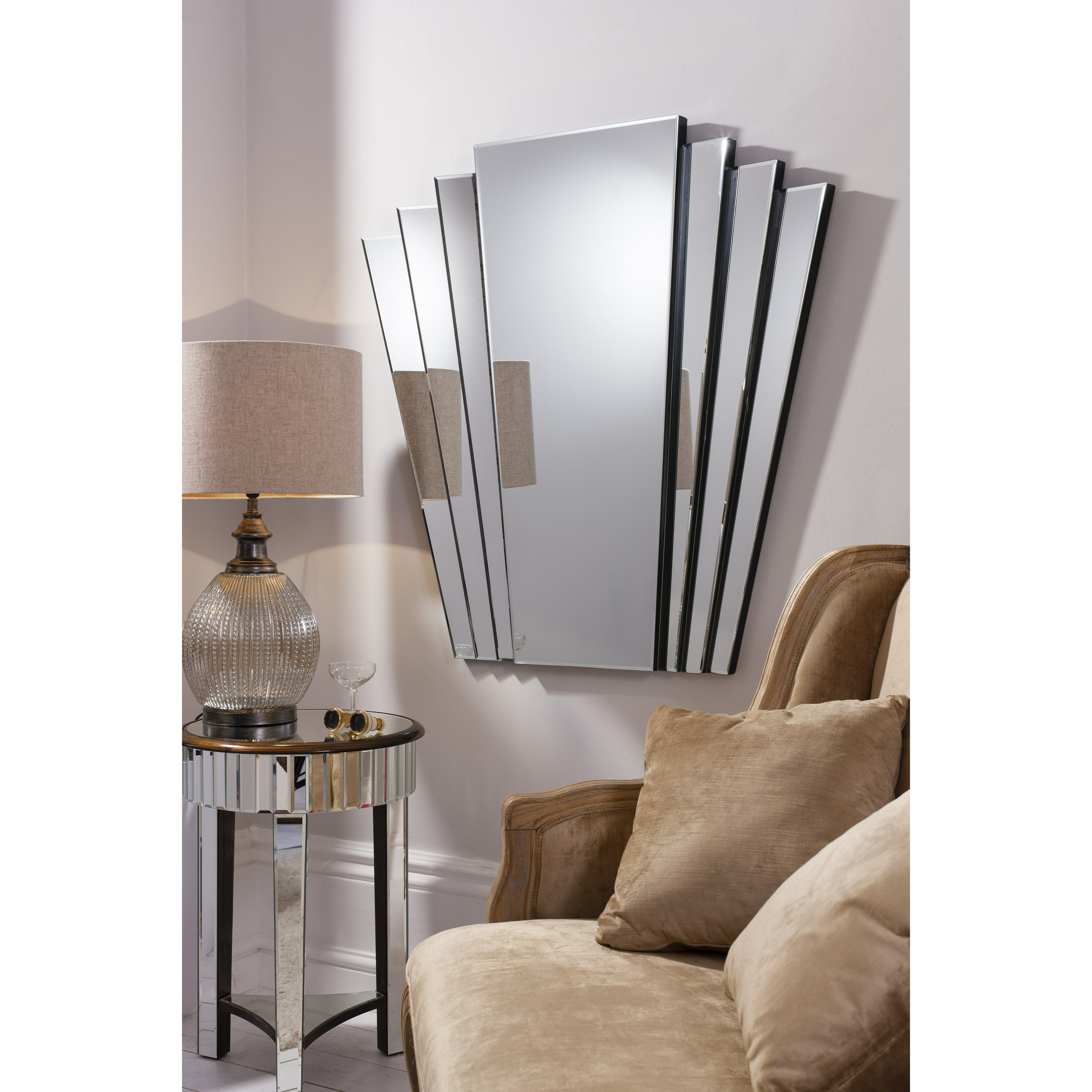 Gallery Gatsby Wall Mirror & Reviews
