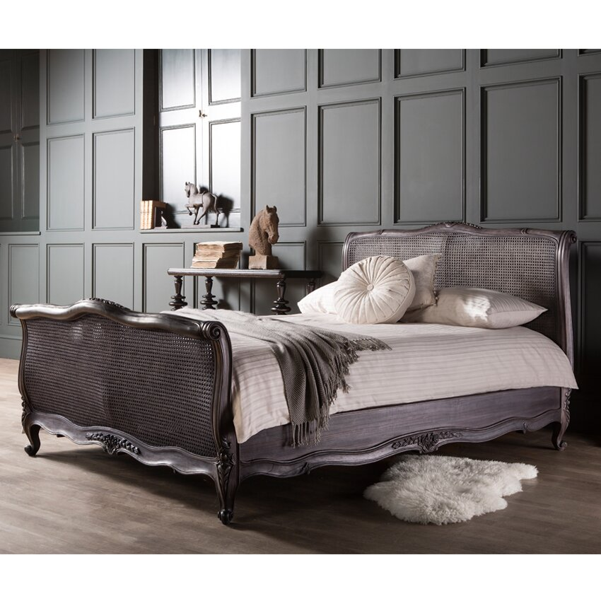 Gallery Parisian House Louise King Bed Frame