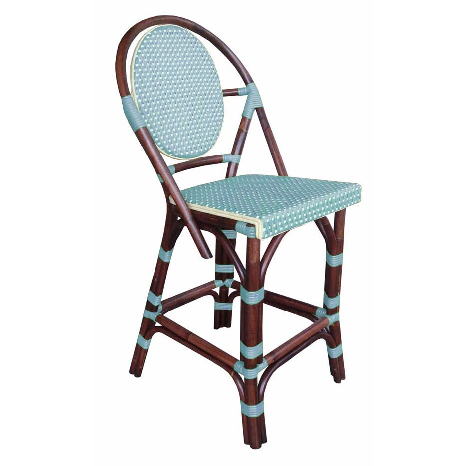 Padmas Plantation Paris Bistro Bar Stool Wayfair