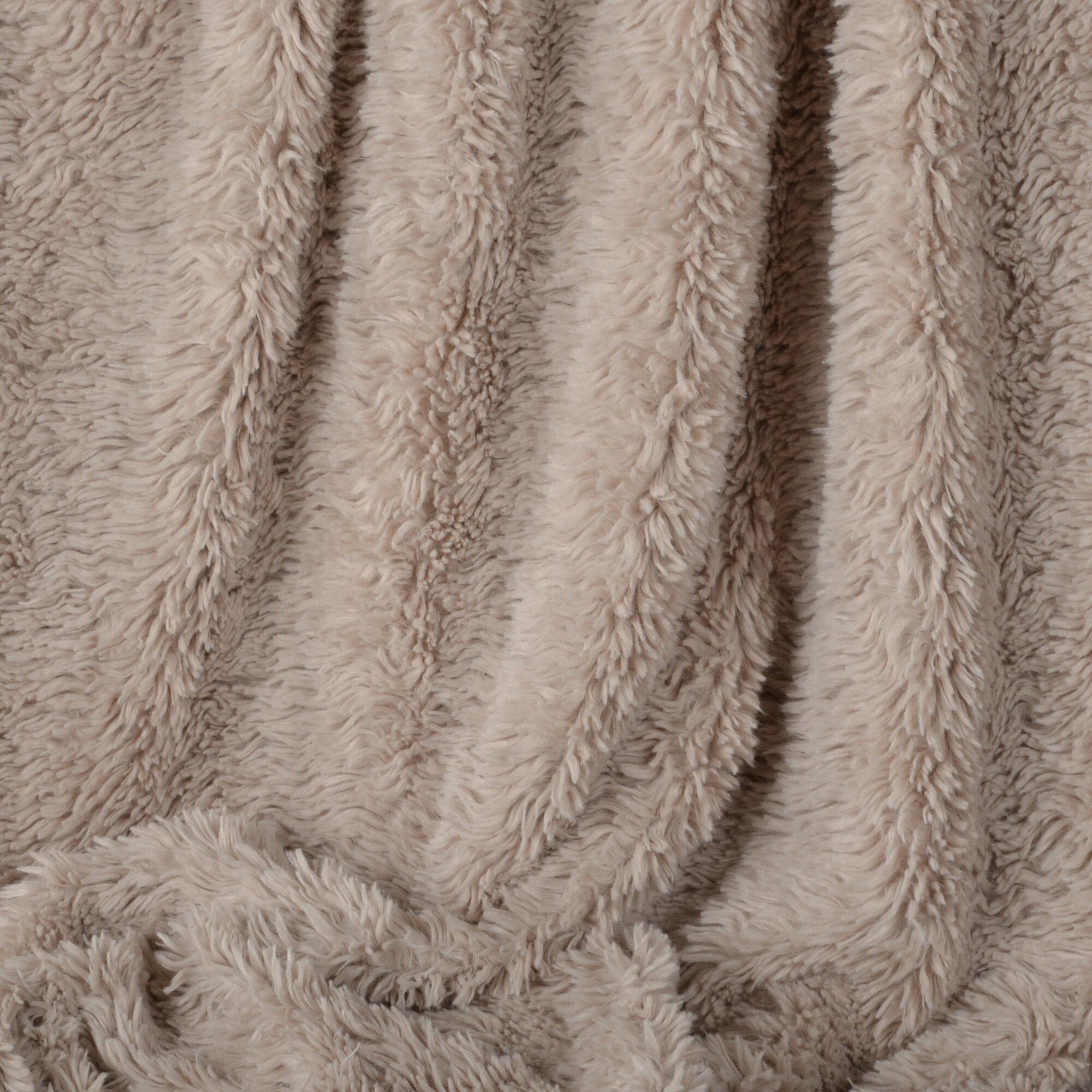 Berkshire Blanket Norwegian Furry Luxe Throw Wayfair
