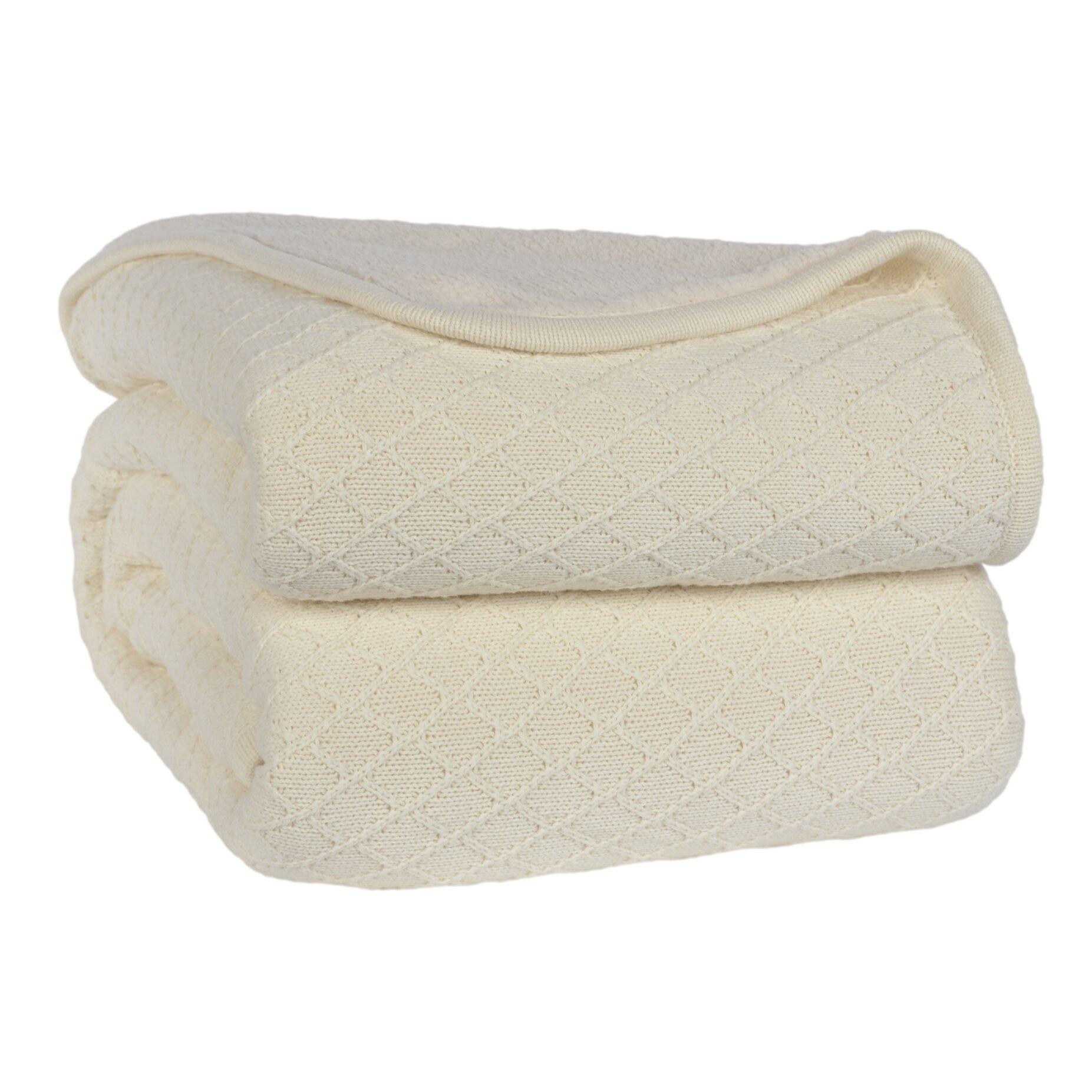 Berkshire Blanket Diamond Sweater Knit Blanket Amp Reviews