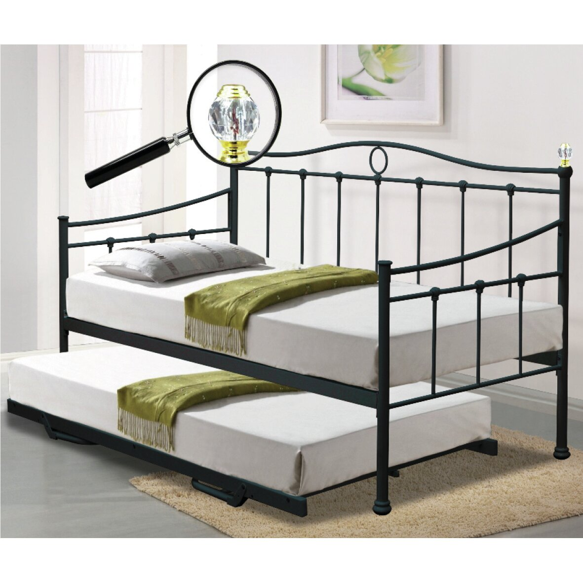 Sareer Furniture Essina Daybed With Trundle Reviews