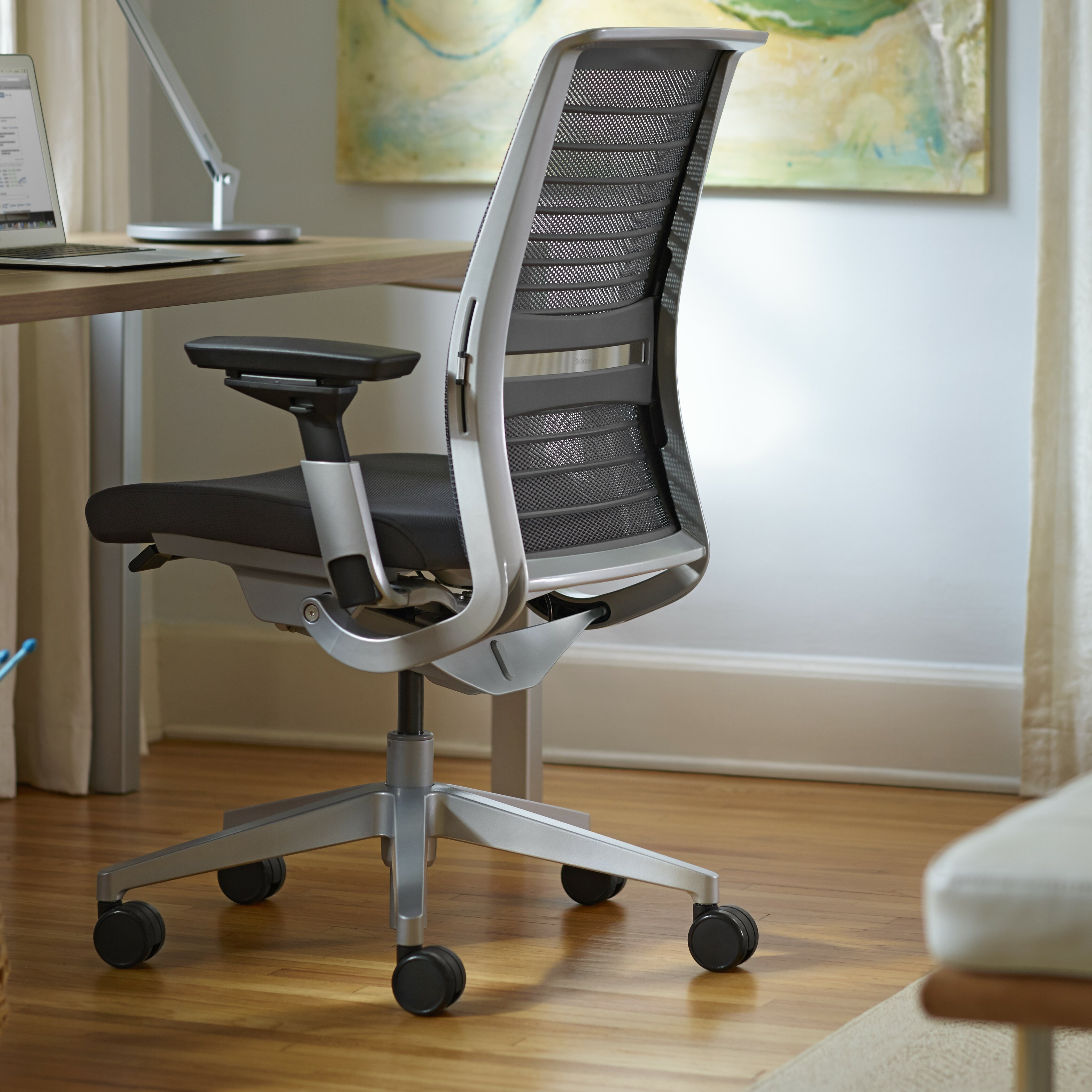 steelcase think 3d knit back office chair reviews wayfair