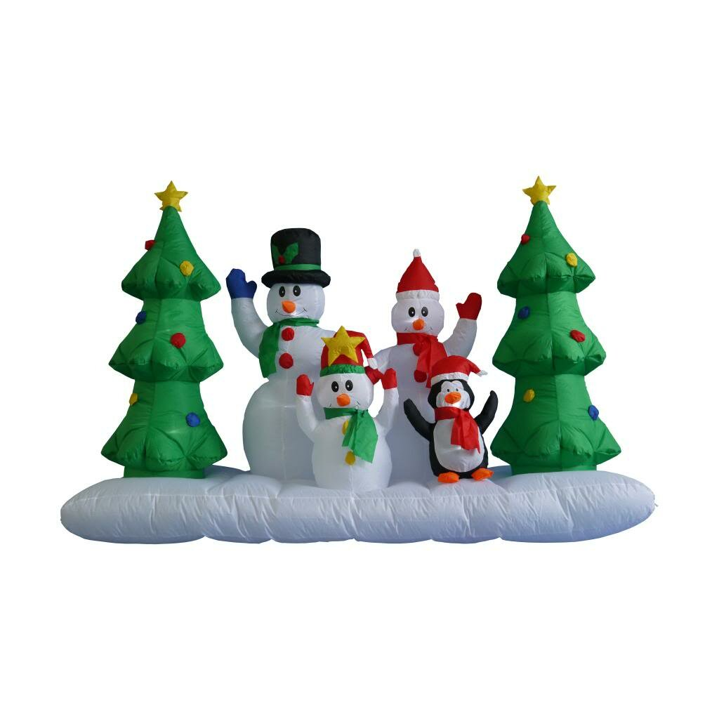BZB Goods 8 ft Inflatable Snowman Family amp Reviews Wayfair : BZB Goods 8 ft Inflatable Snowman Family 100152 from www.wayfair.com size 1024 x 1024 jpeg 60kB