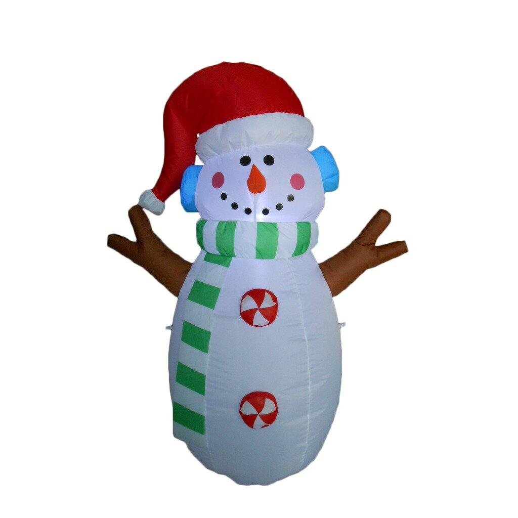 Bzb goods snowman christmas decoration reviews wayfair for 36 countdown to christmas snowman yard decoration