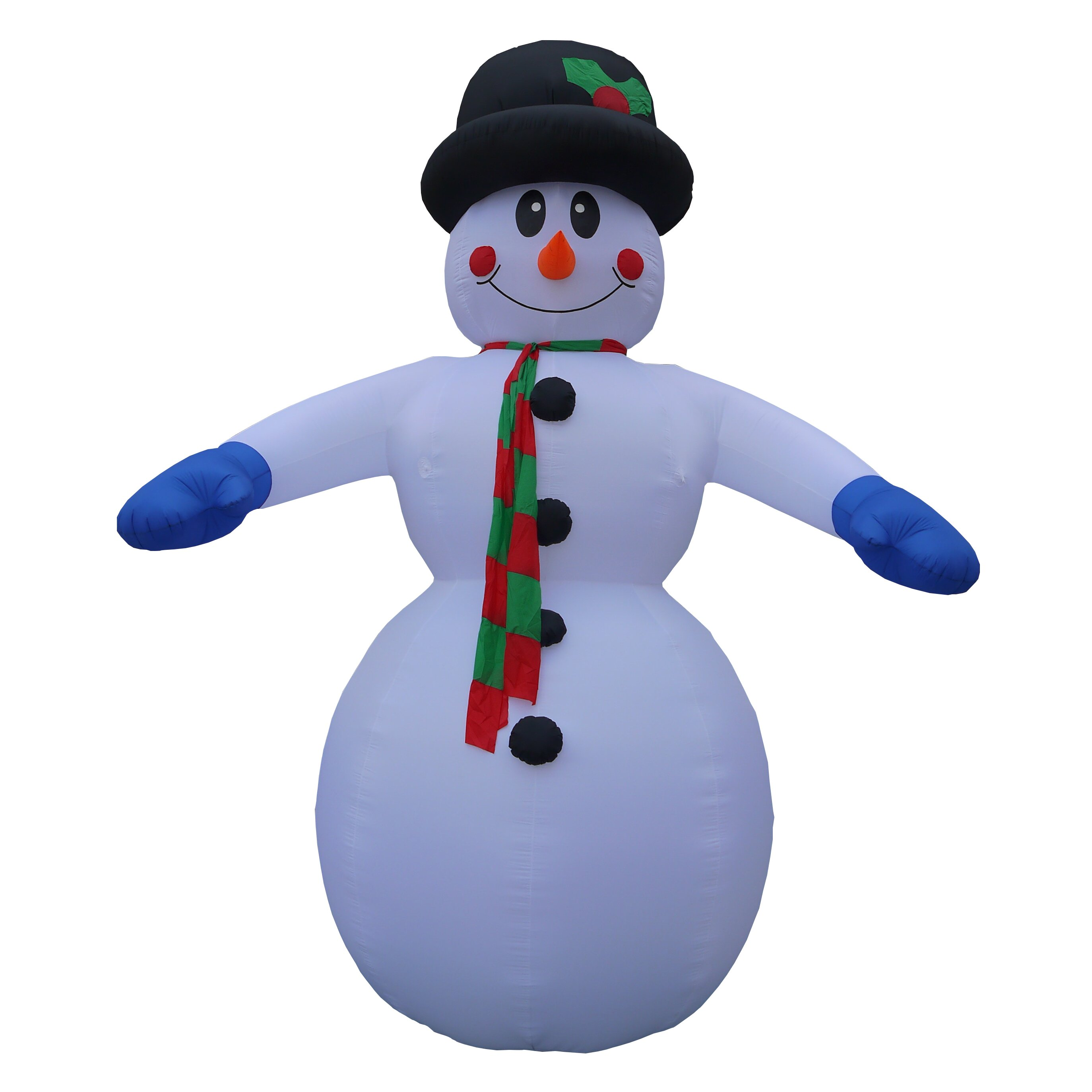 Bzb Goods Christmas Inflatable Huge Snowman Decoration