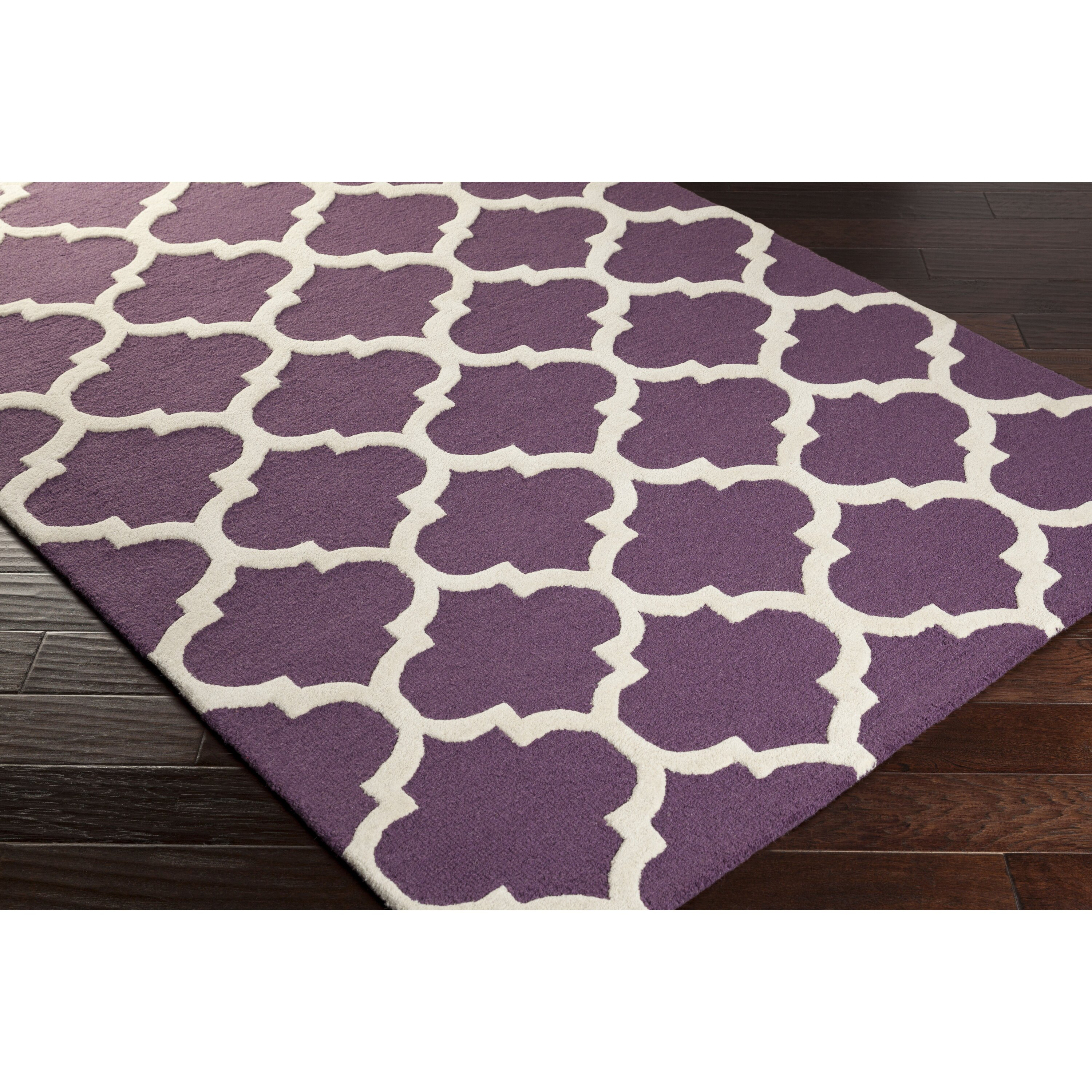 Xl Purple Rug: Artistic Weavers Pollack Purple Geometric Stella Area Rug