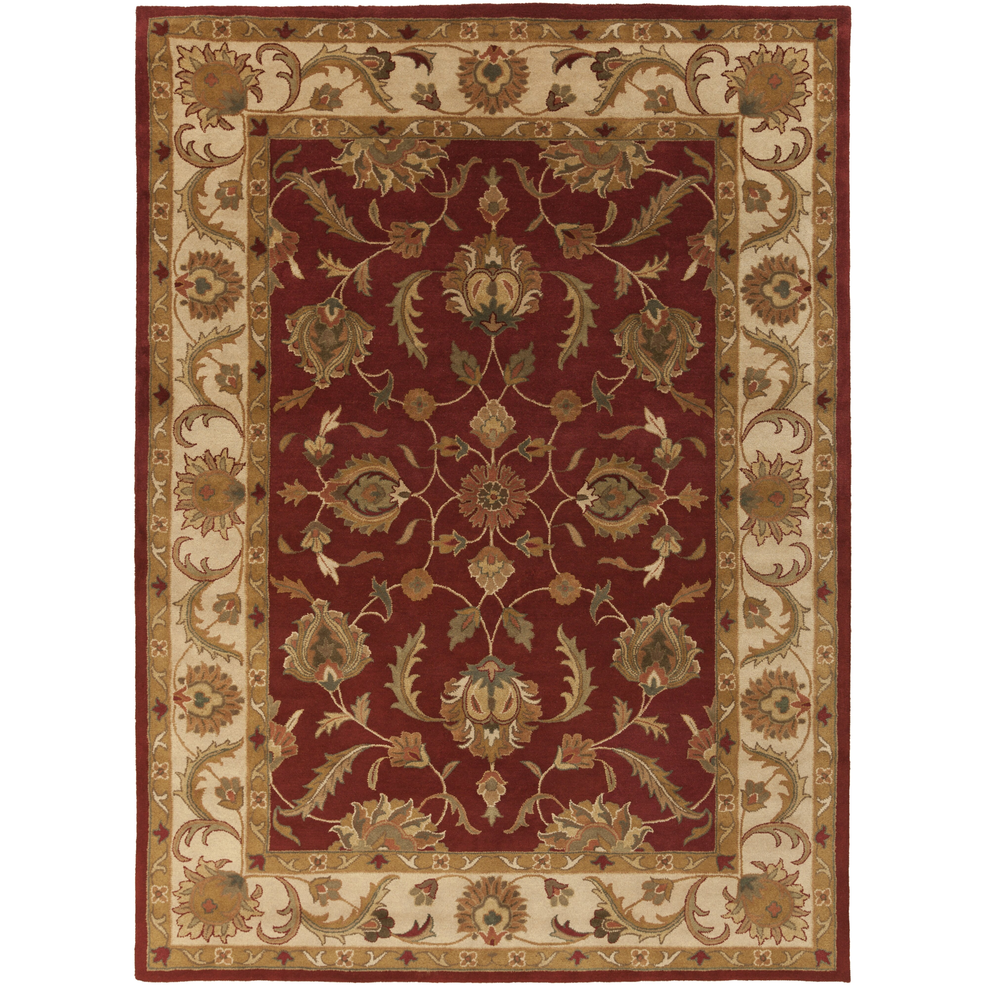 Artistic Stairs Canada: Artistic Weavers Oxford Red Isabelle Area Rug & Reviews