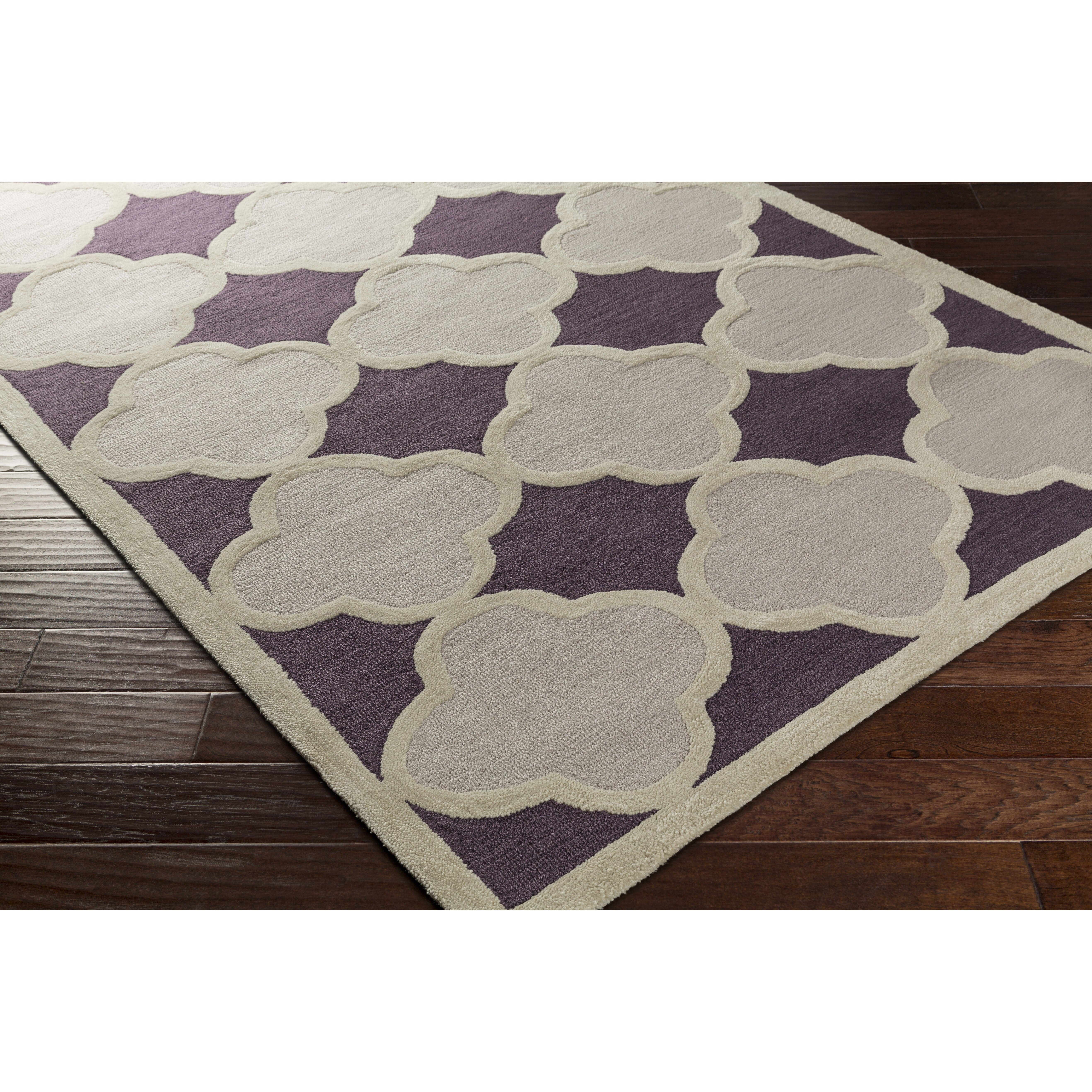 Purple And Gray Area Rugs: Artistic Weavers Holden Maisie Purple/Gray Area Rug