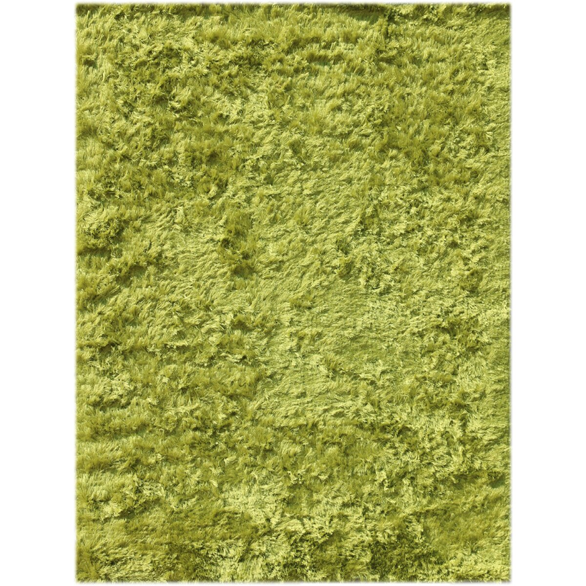 Lime Green Area Rug: AMER Rugs Elements Neon Lime Green Area Rug & Reviews