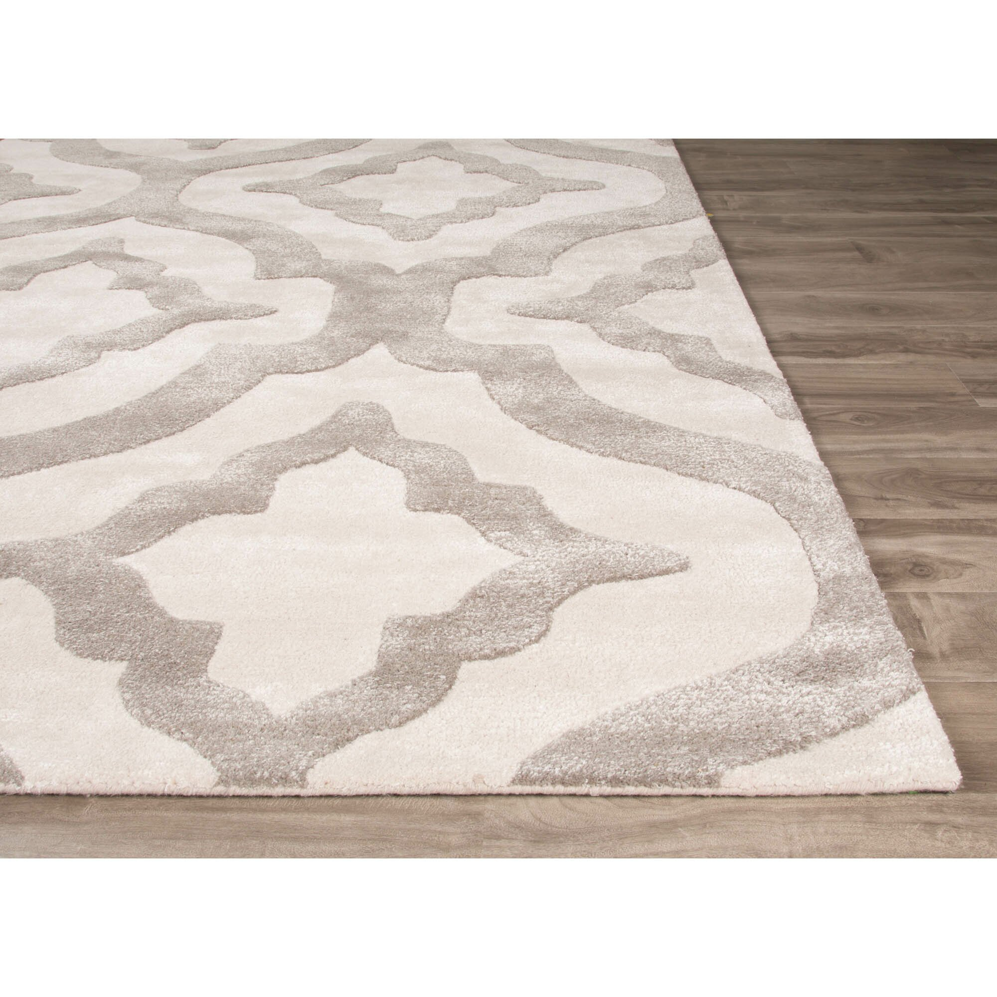 Jaipurliving City Hand Tufted Ivory White Area Rug Wayfair