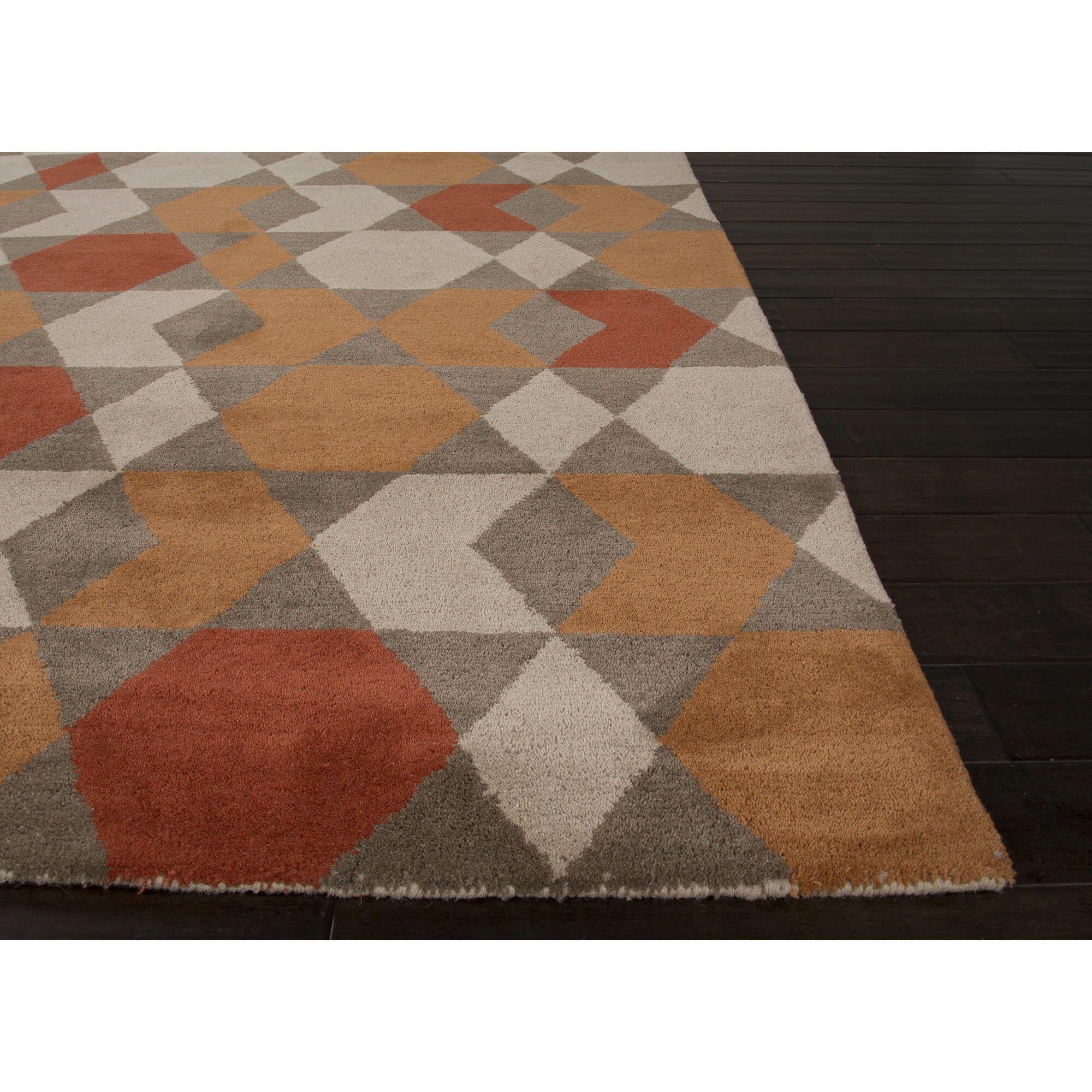 JaipurLiving Aztec Orange & Brown Area Rug