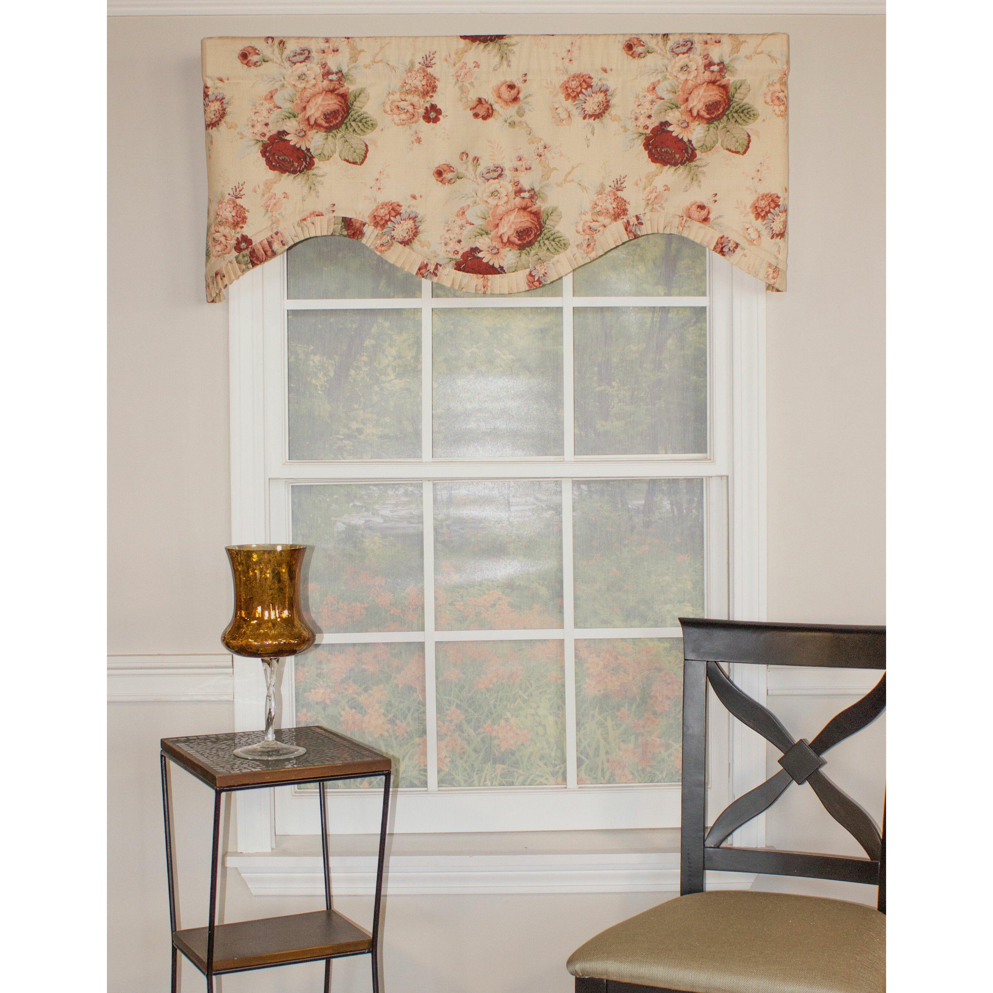 Rlf Home English Rose Cornice 50 Curtain Valance
