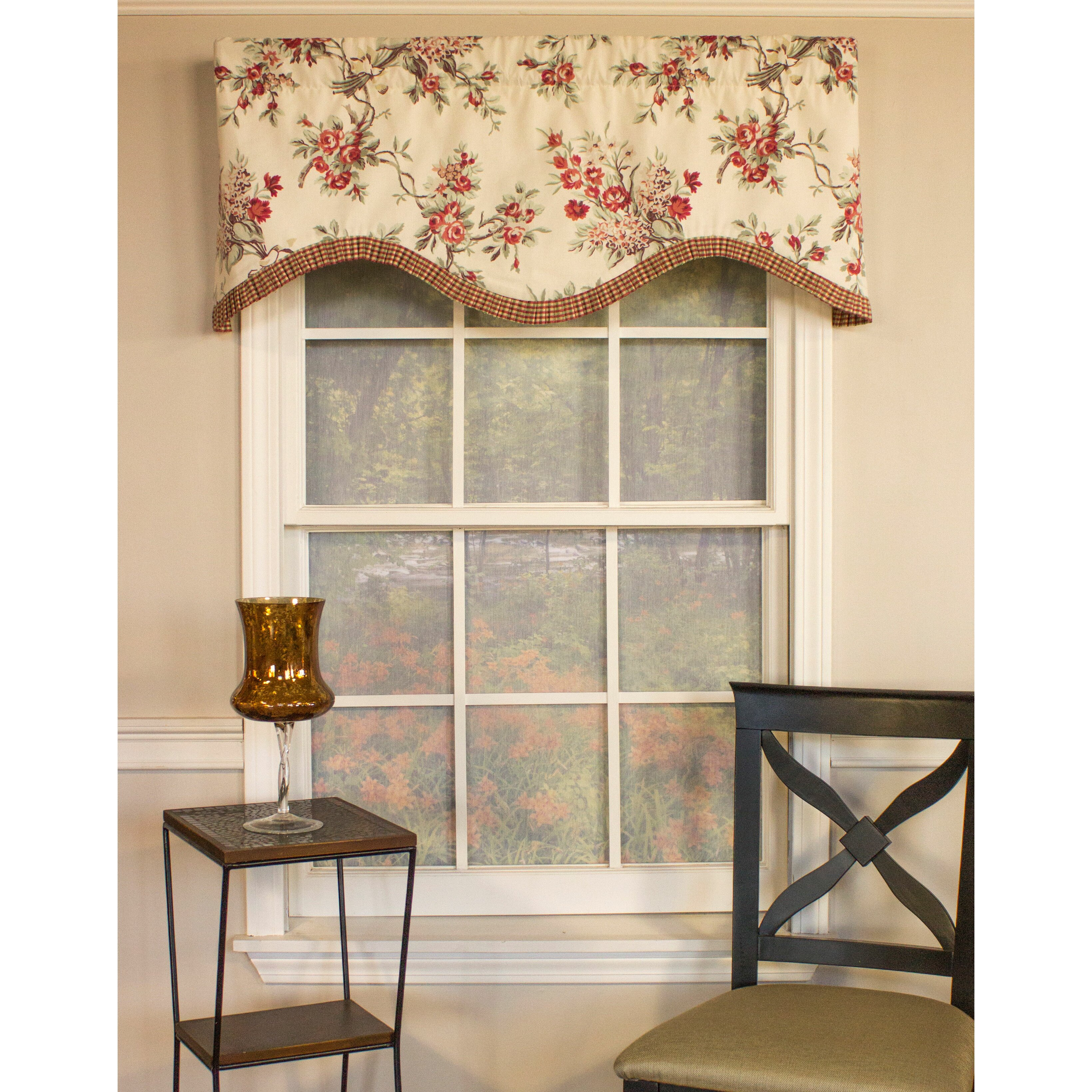 Rlf Home Branching Out Cornice 50 Curtain Valance