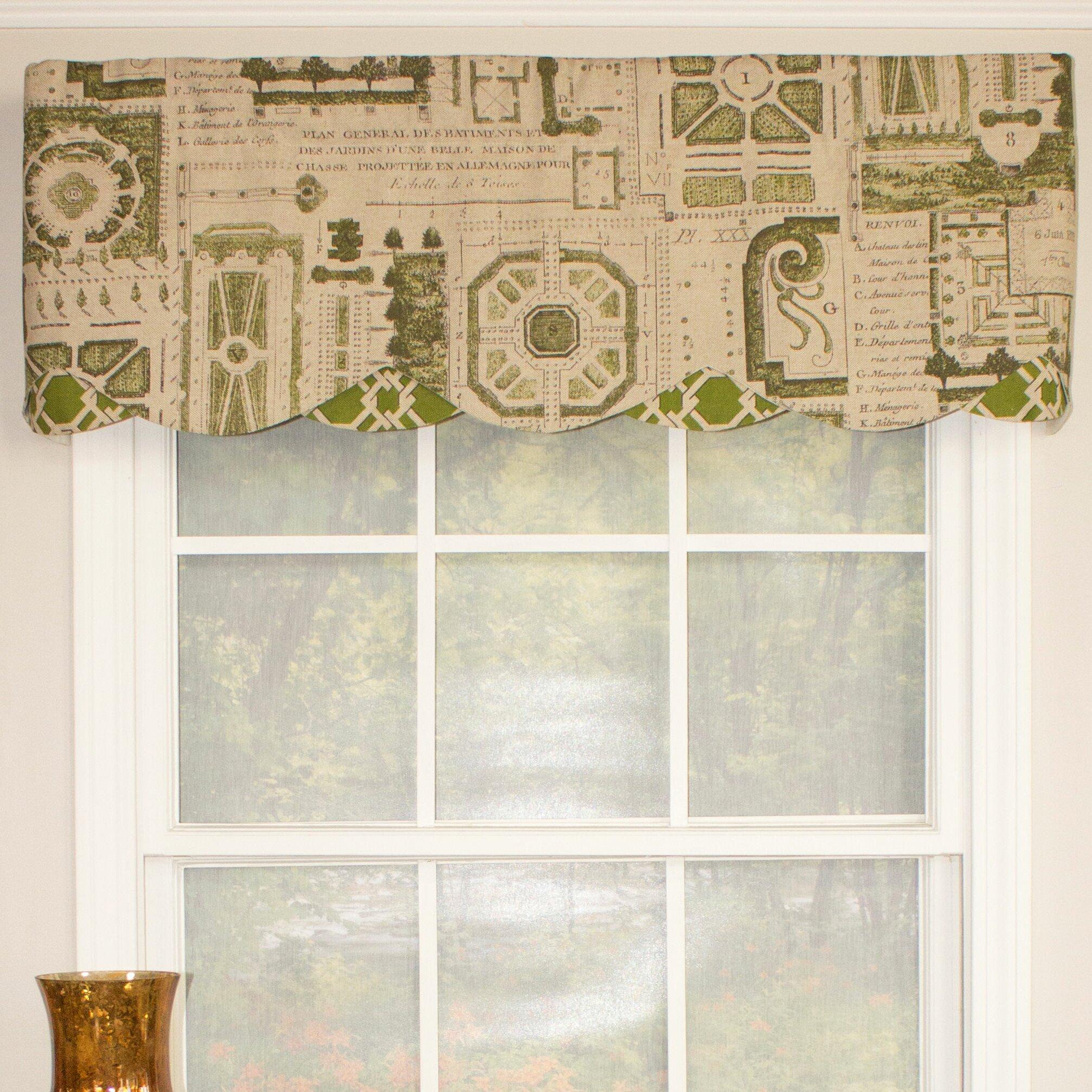 Rlf home le jardin petticoat 50 curtain valance reviews for Le jardin restaurant valence