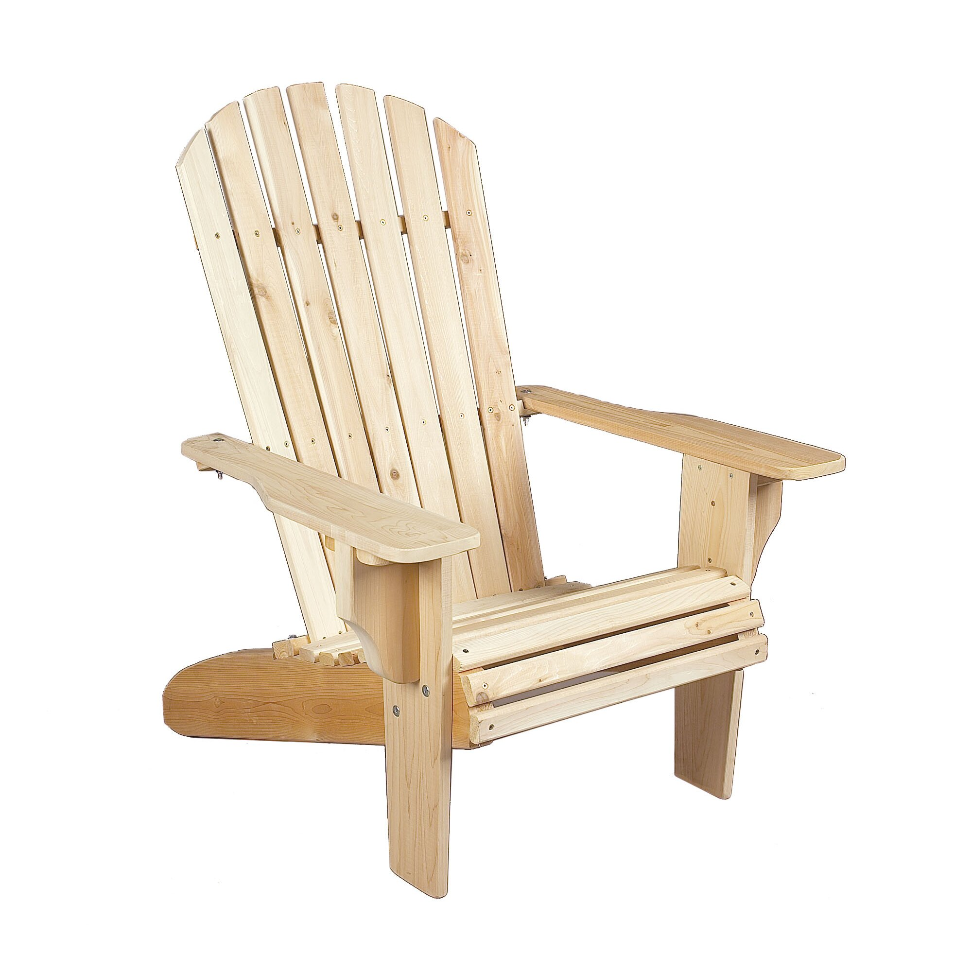 Rustic Cedar Deluxe Cedar Adirondack Chair Reviews Wayfair