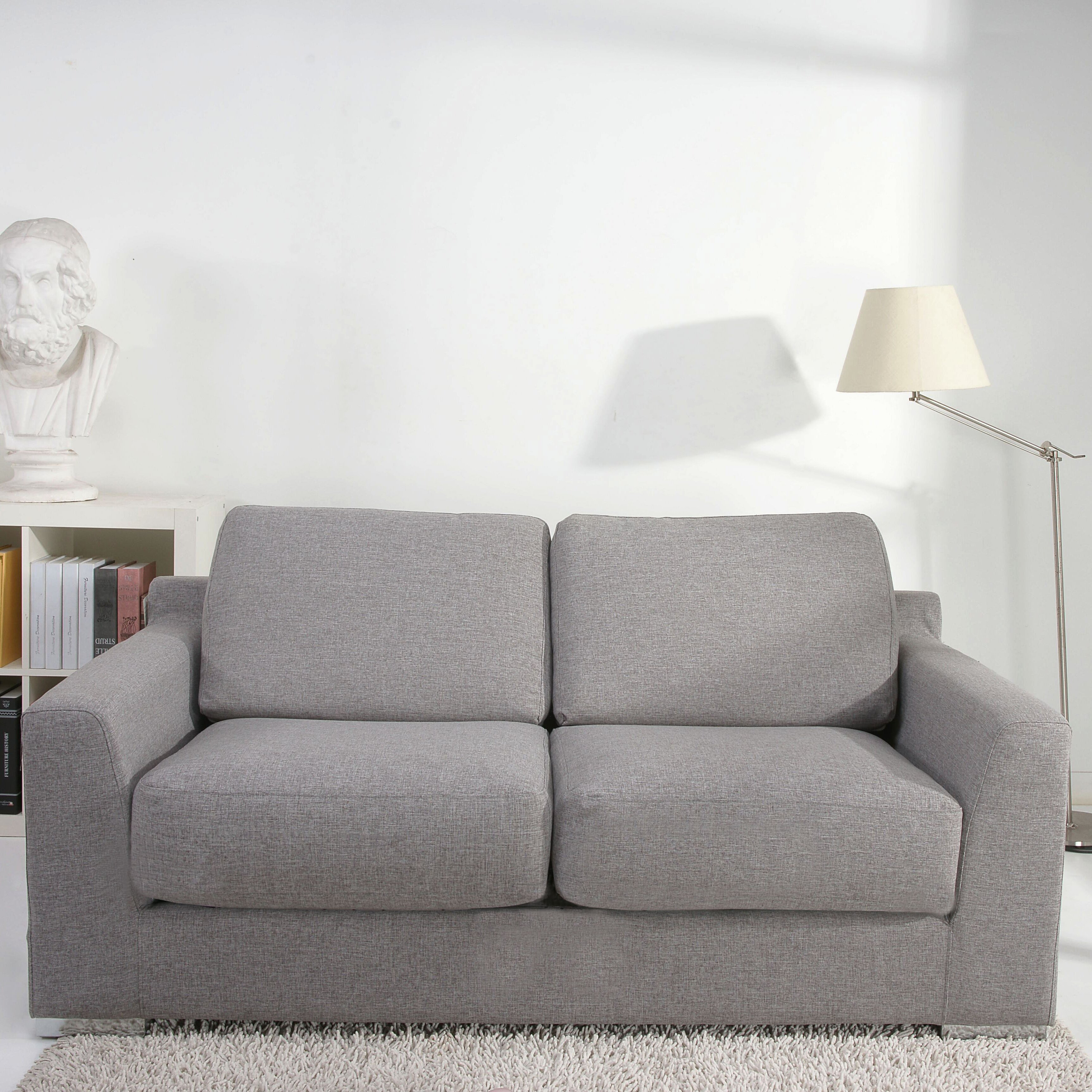 Leader Lifestyle Paris 2 Seater Fold Out Sofa Bed ...