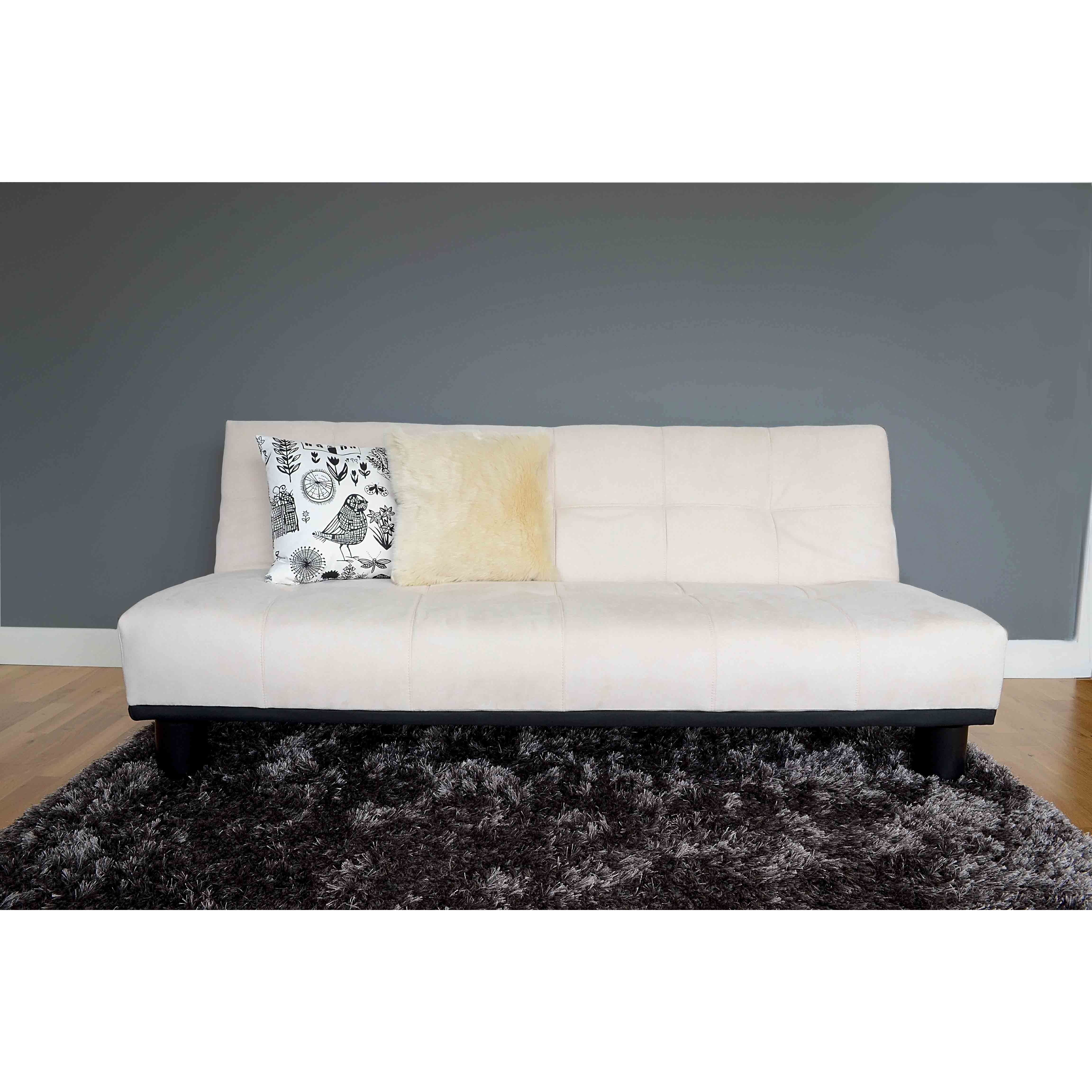 leader lifestyle 3 seater clic clac sofa bed reviews wayfair uk. Black Bedroom Furniture Sets. Home Design Ideas