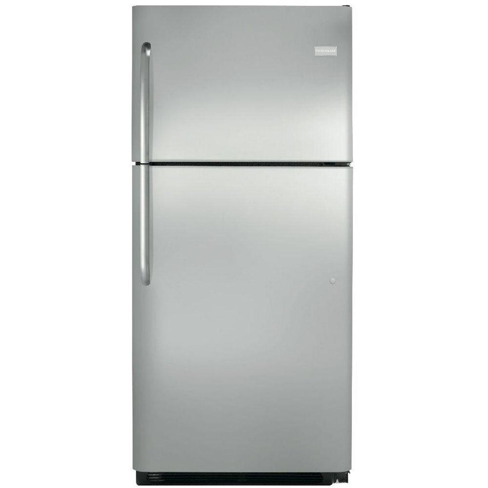 frigidaire 20 3 cu ft top freezer refrigerator reviews wayfair. Black Bedroom Furniture Sets. Home Design Ideas