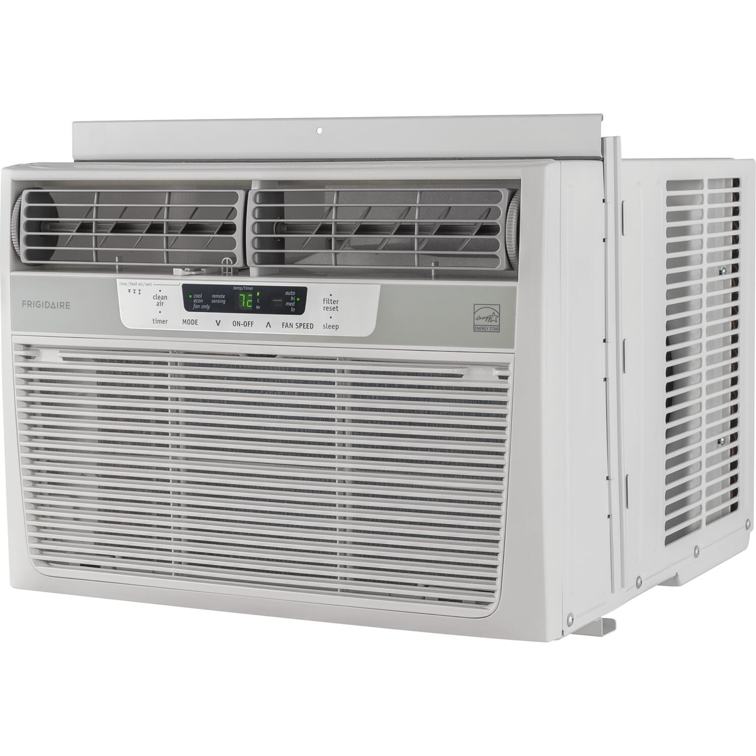 #446E35 Frigidaire 10 000 BTU Energy Star Window Compact Air  Most Recent 14130 Small Window Air Conditioners image with 1500x1500 px on helpvideos.info - Air Conditioners, Air Coolers and more