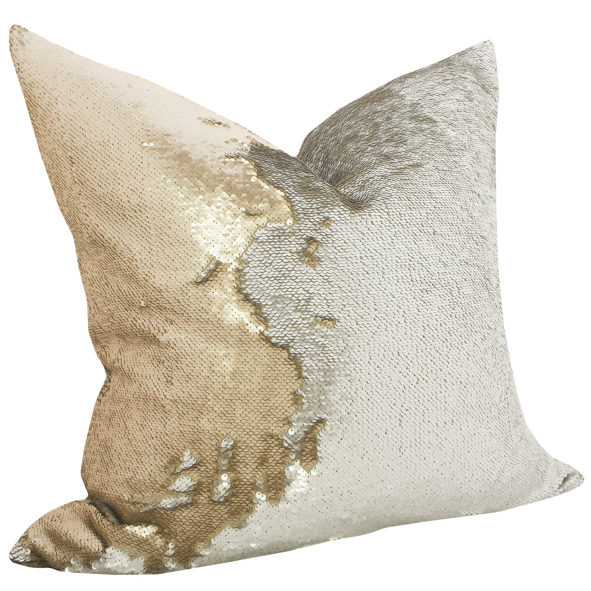 Sequin Elephant Throw Pillow : TheWatsonShop Mermaid Sequin Throw Pillow & Reviews Wayfair