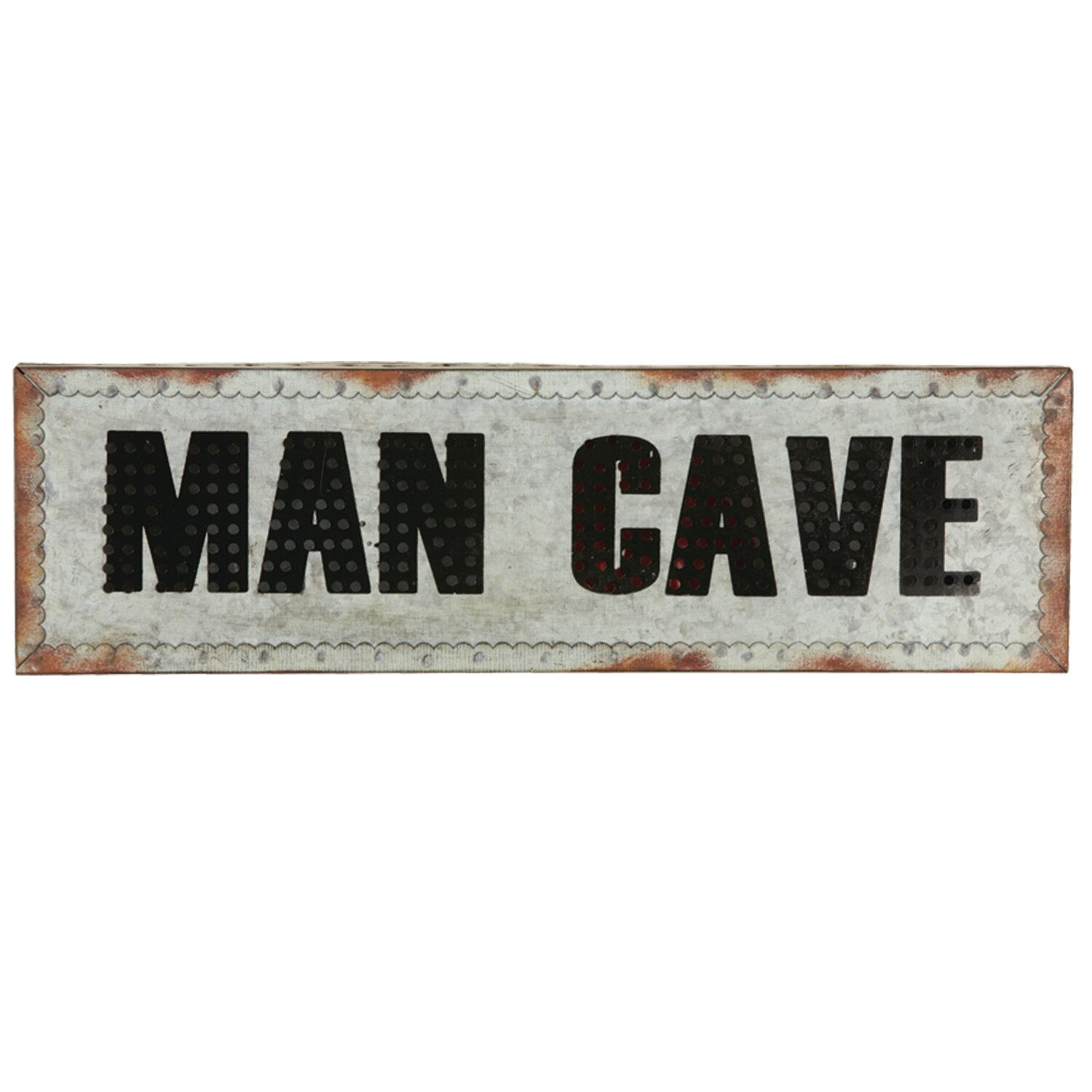 Man Cave Wall Accessories : Ram game room man cave wall décor with light wayfair