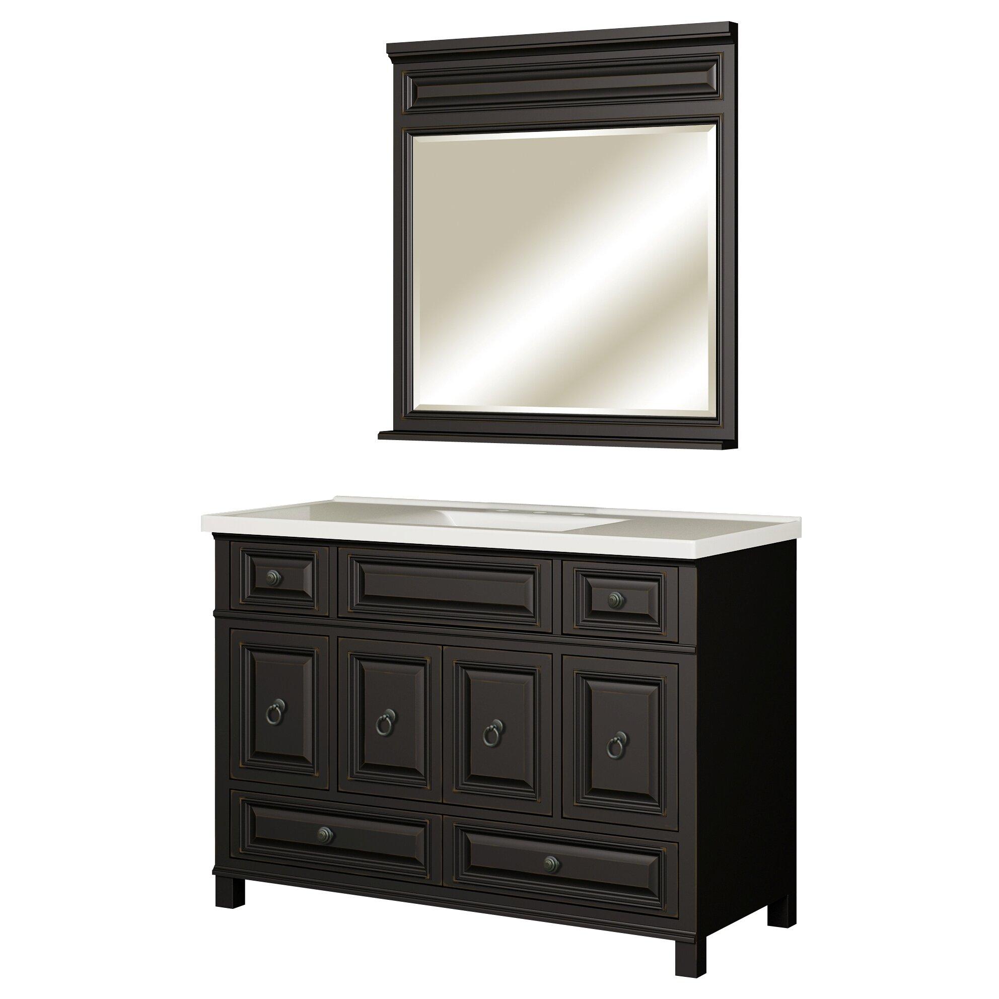 Sagehill premier 49 single bathroom vanity top reviews for Sagehill designs bathroom vanity