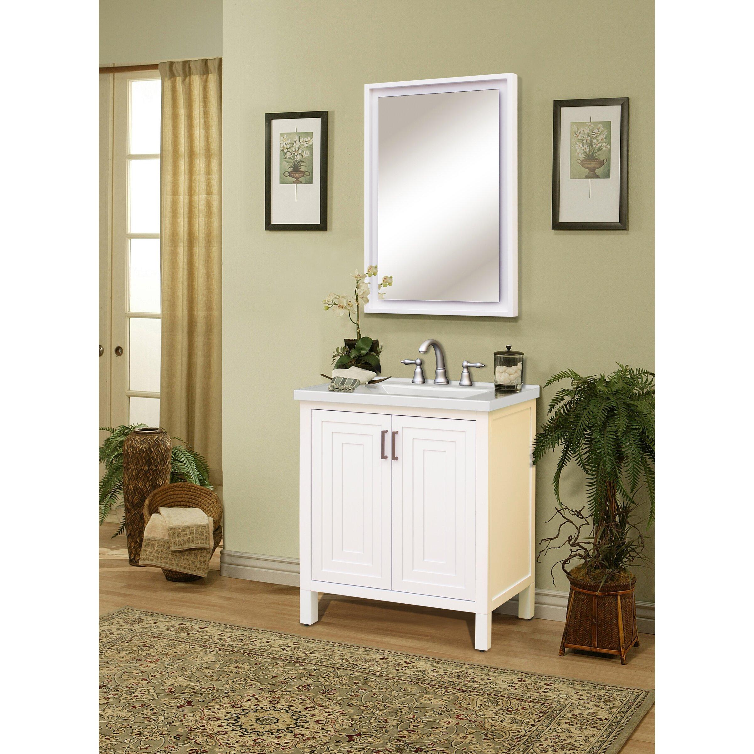 Sagehill premier 31 single bathroom vanity top reviews for Sagehill designs bathroom vanity