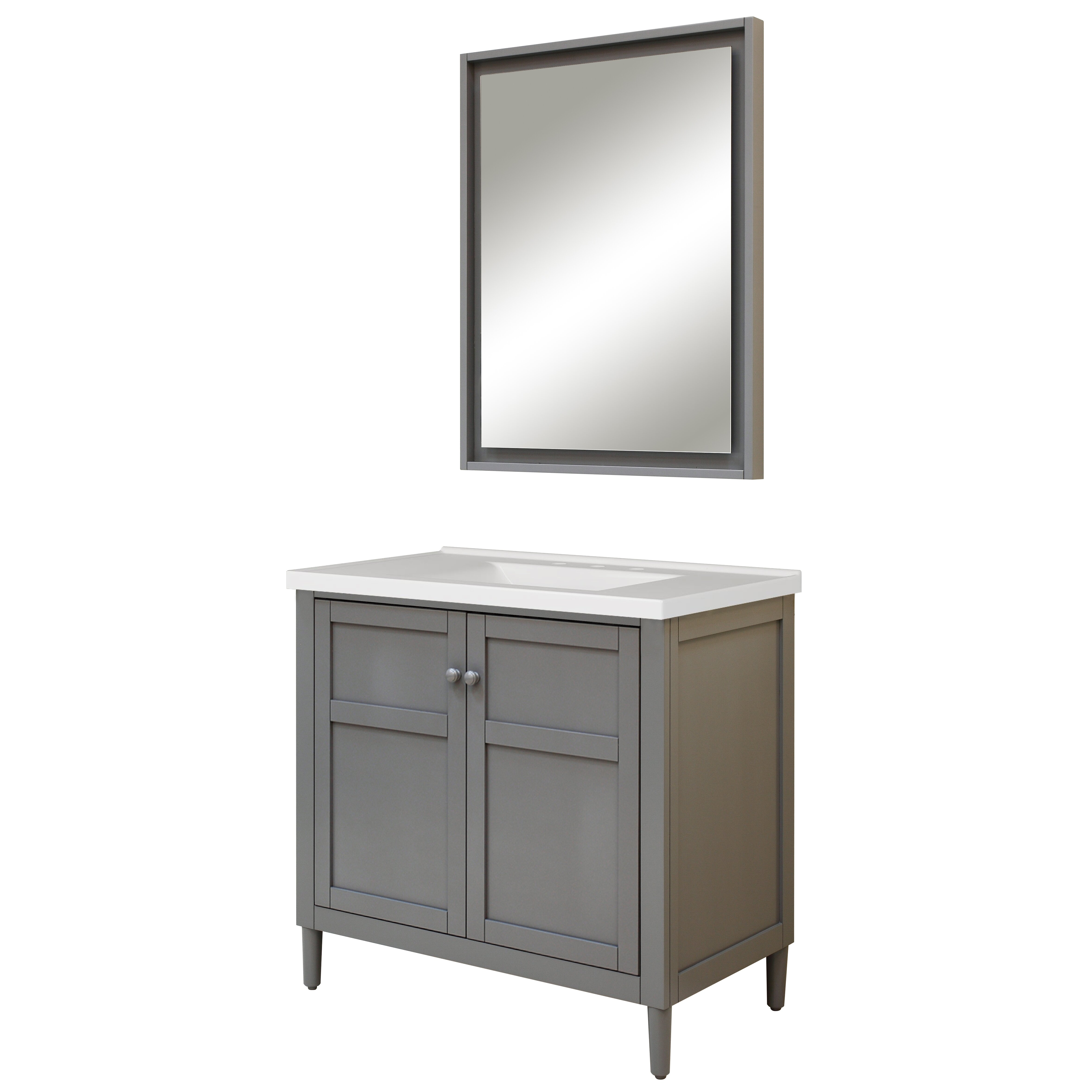 Sagehill Harper 37 Single Bathroom Vanity Set With