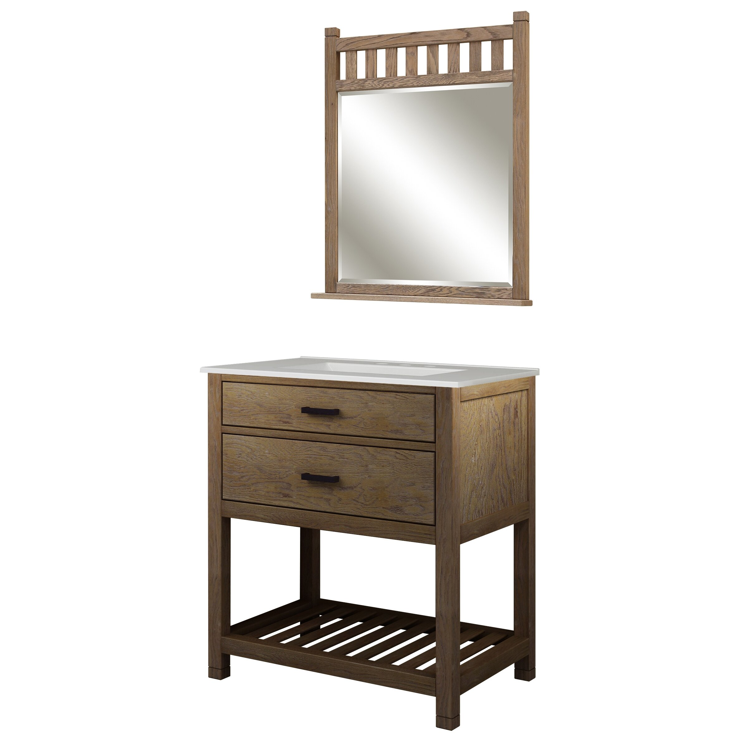 Sagehill toby 31 single bathroom vanity set with for Sagehill designs bathroom vanity