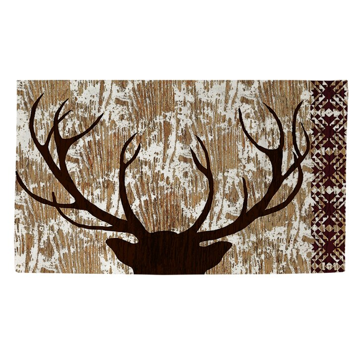 Manual Woodworkers & Weavers Wilderness Deer Area Rug