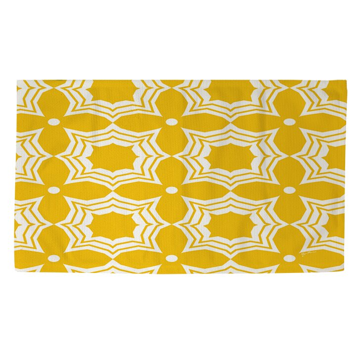 manual woodworkers weavers sparkle yellow white area rug wayfair supply. Black Bedroom Furniture Sets. Home Design Ideas